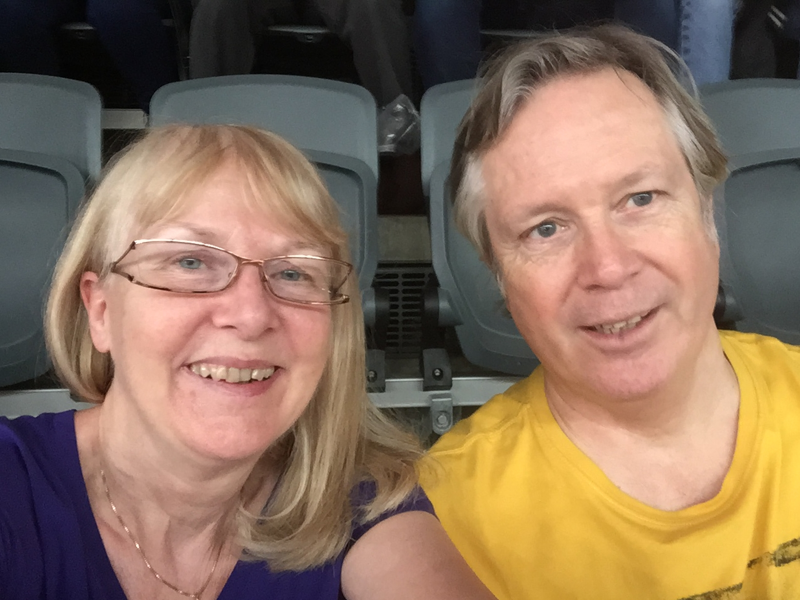 Yvonne & William from Witney, United Kingdom
