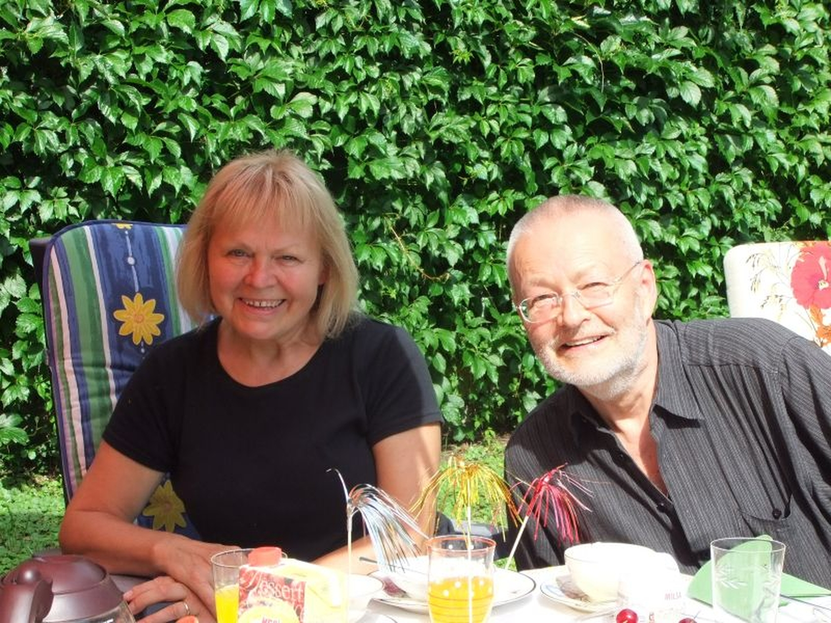 Bernd & Ursula from Dresden, Germany