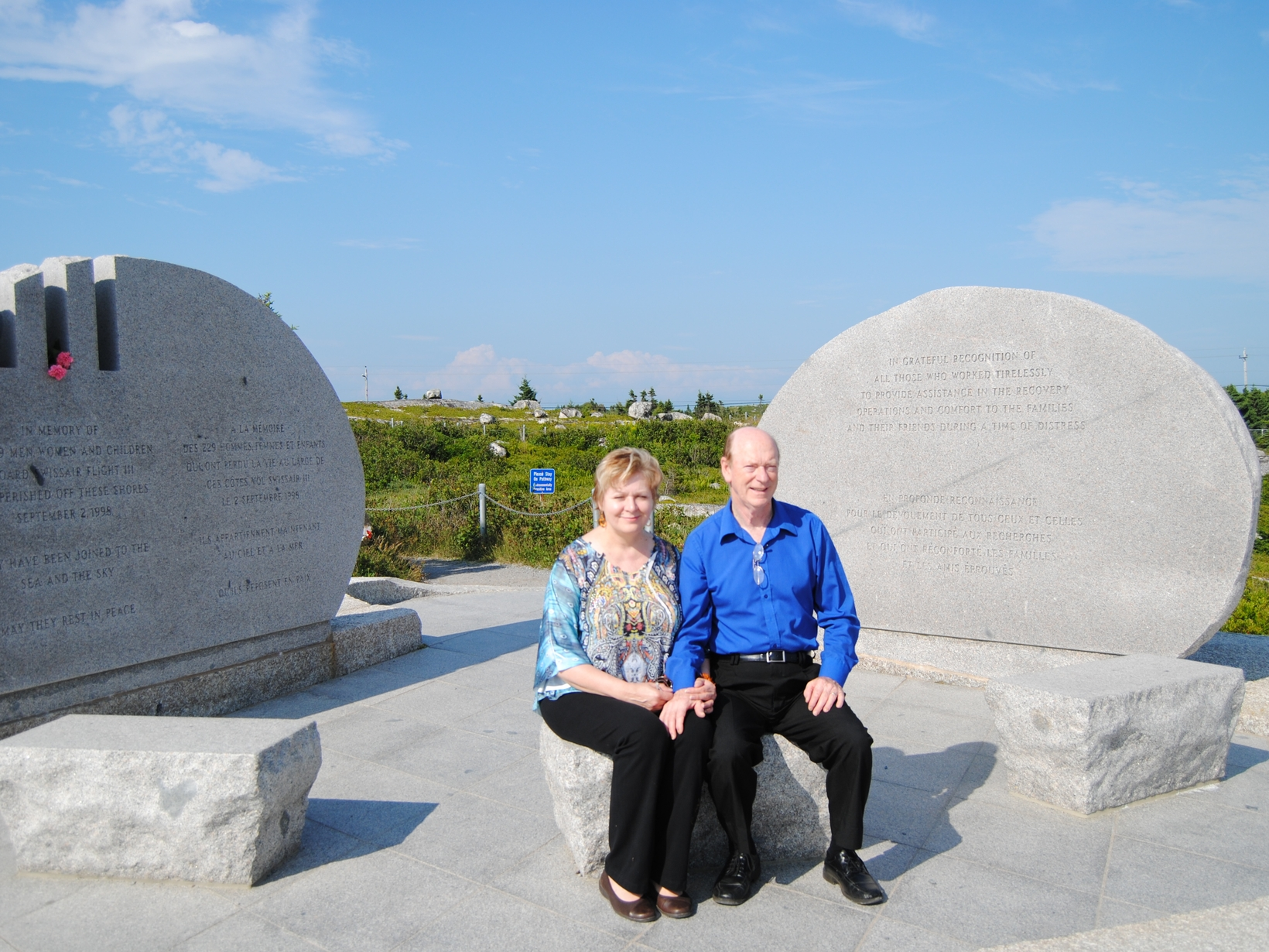 Barbara & Dwight from Gagetown, New Brunswick, Canada