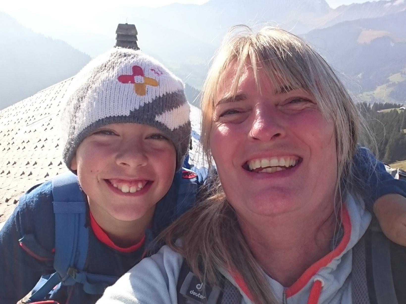 Sandra & Steven from Adelboden, Switzerland