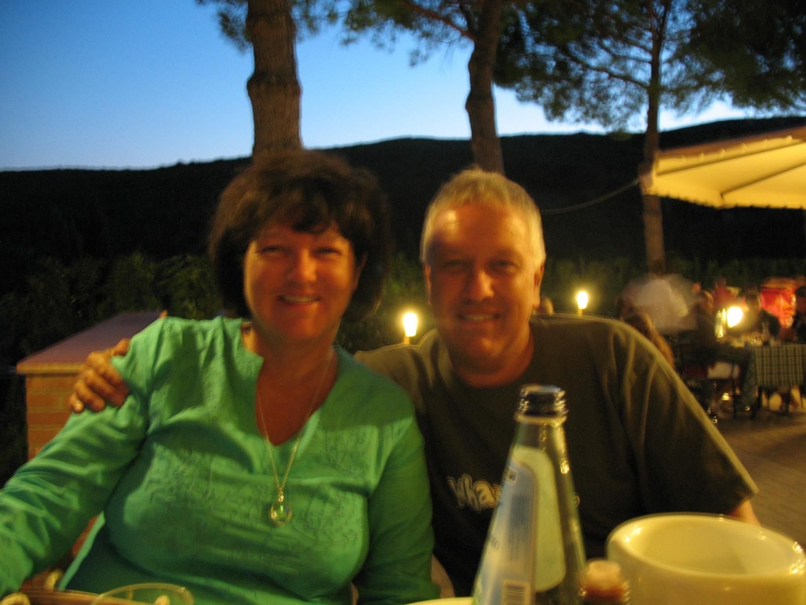 Moira & chris & Chris from Vange, United Kingdom
