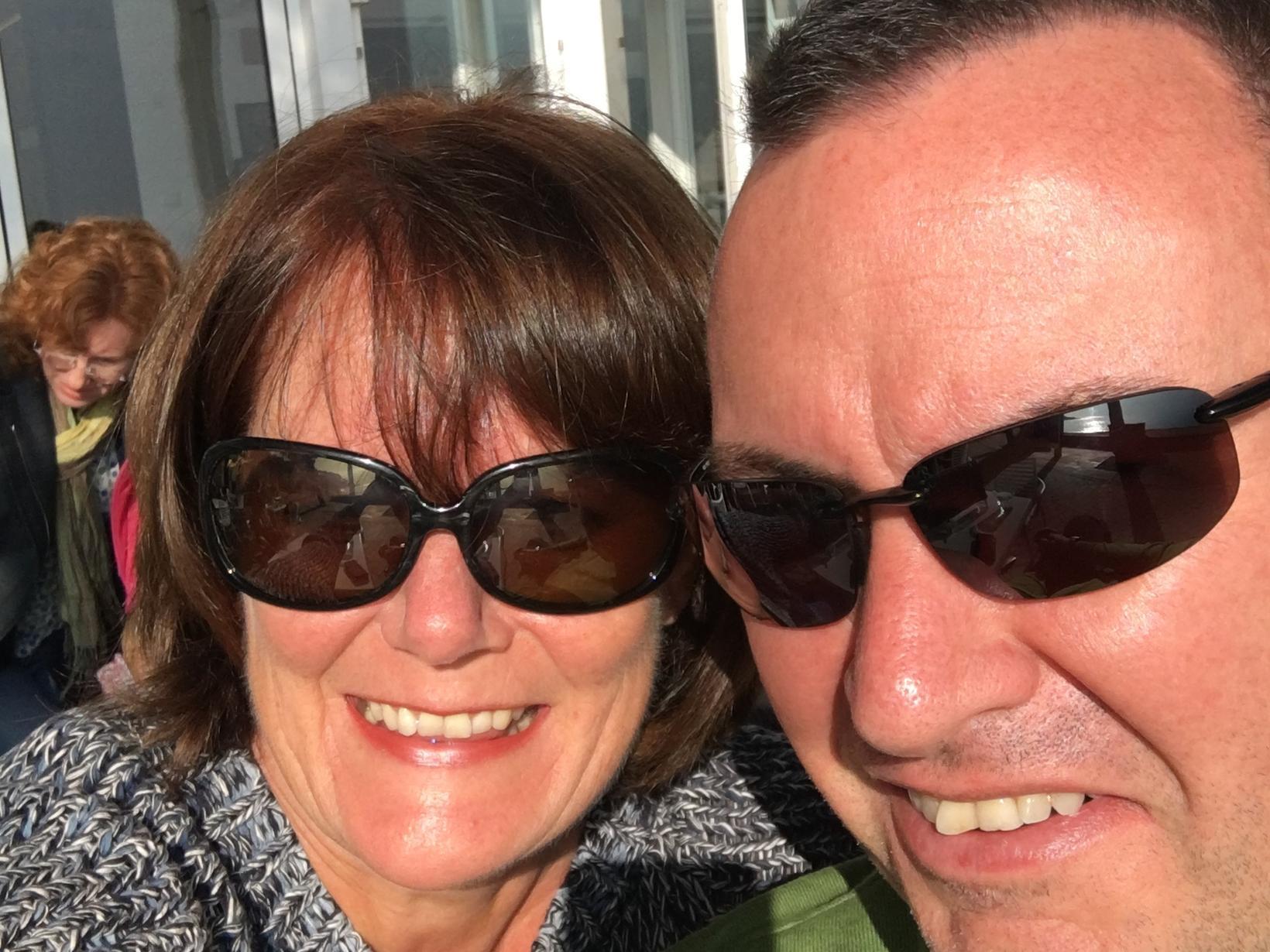 Eileen and john & John from Calonge, Spain