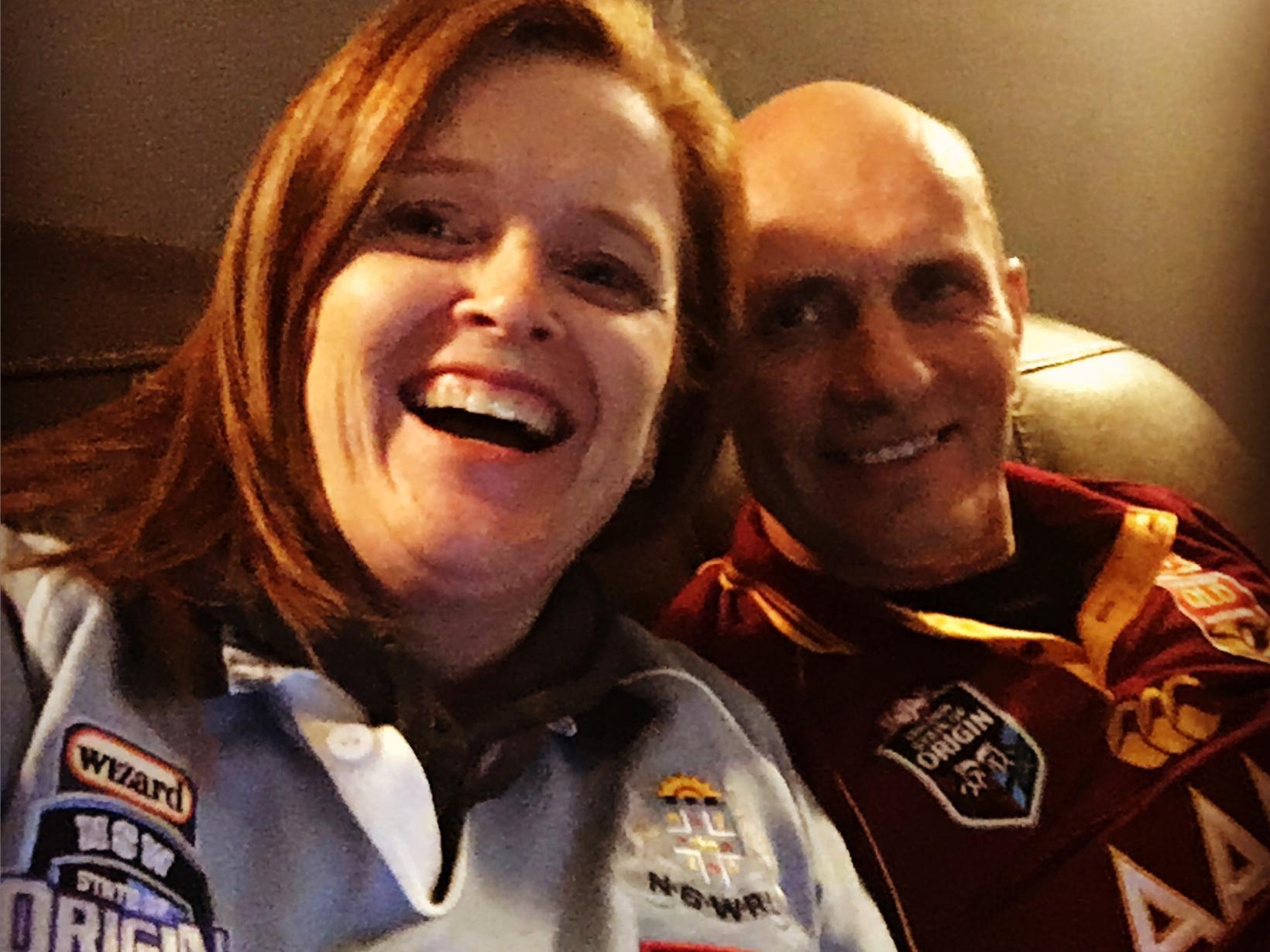 Lee & Geoff from Brisbane, Queensland, Australia