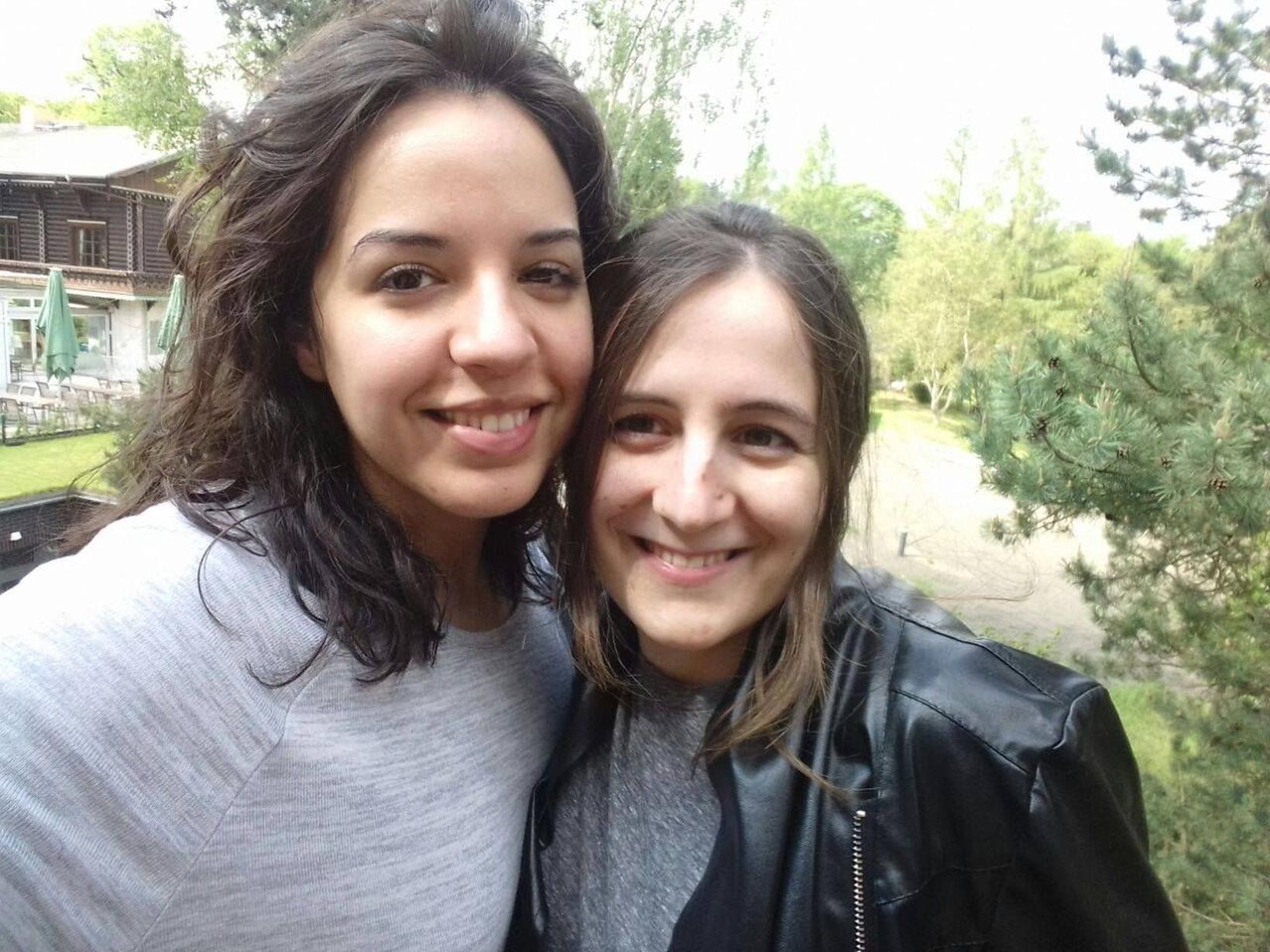 Stefanie & Christiane from Berlin, Germany