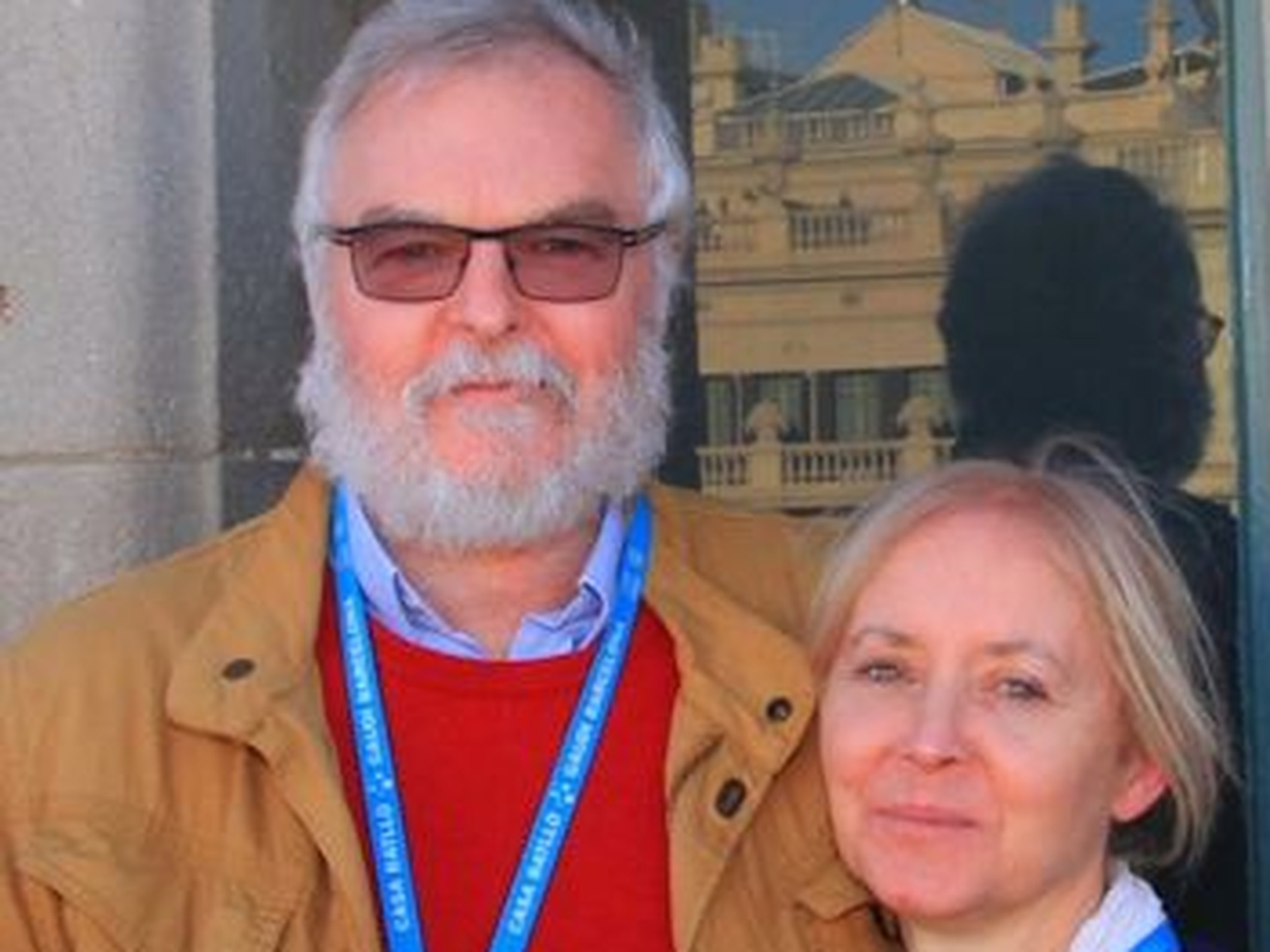 Mike & Bernadette from London, United Kingdom