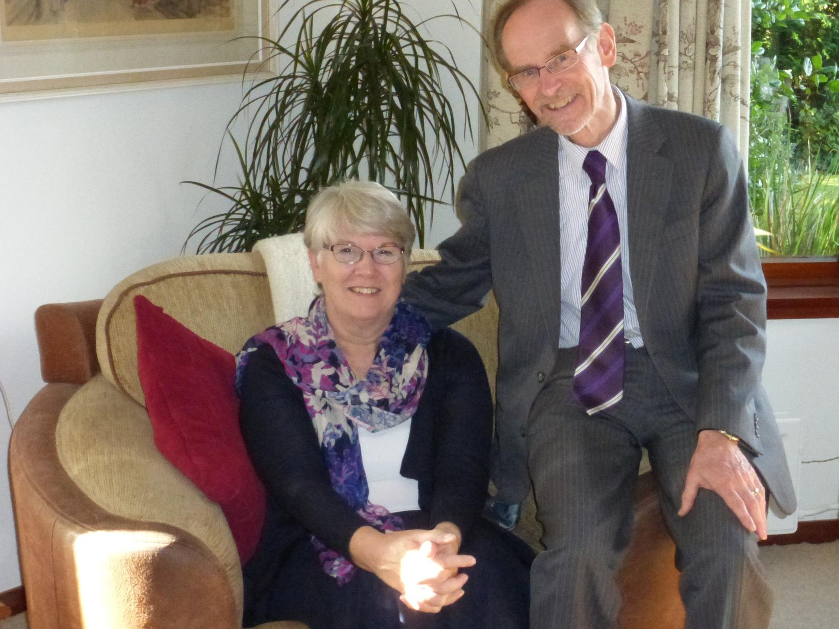 Norine & Bob from Bangor, United Kingdom