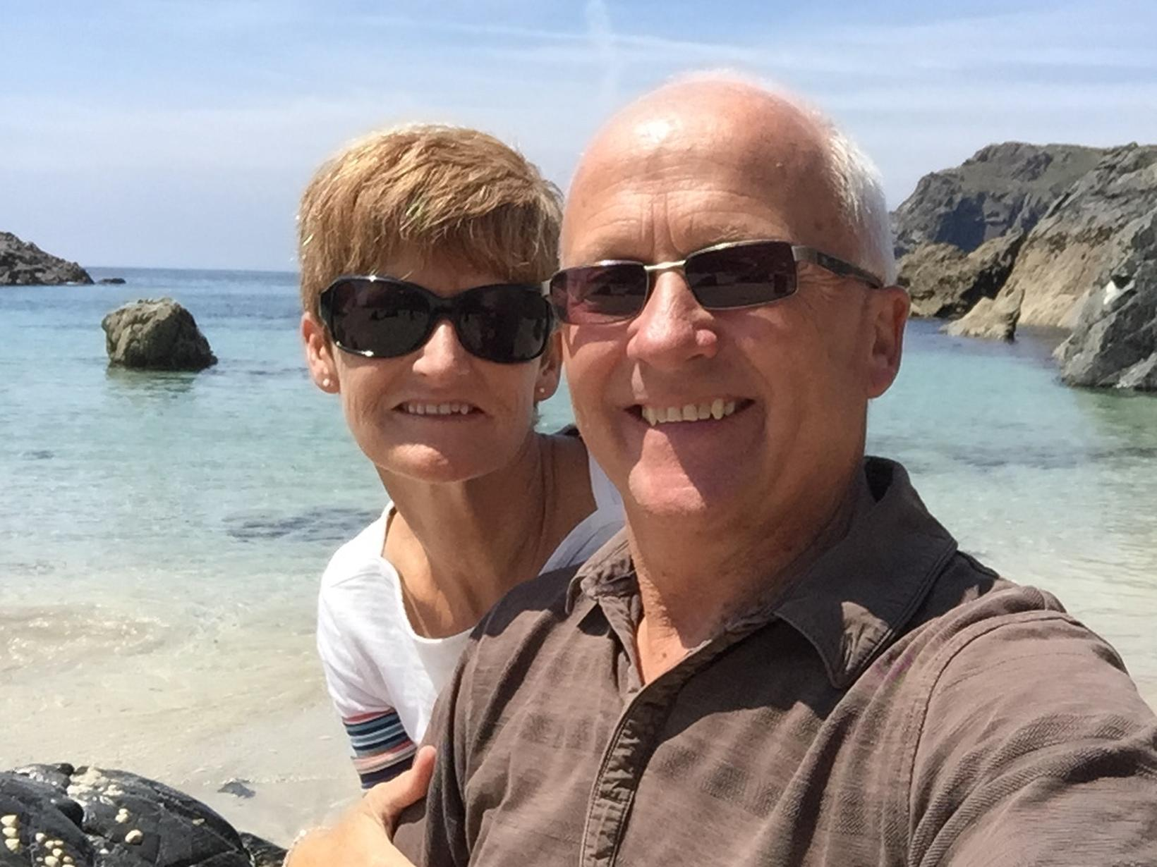 Debra & Mike from Isles of Scilly, United Kingdom