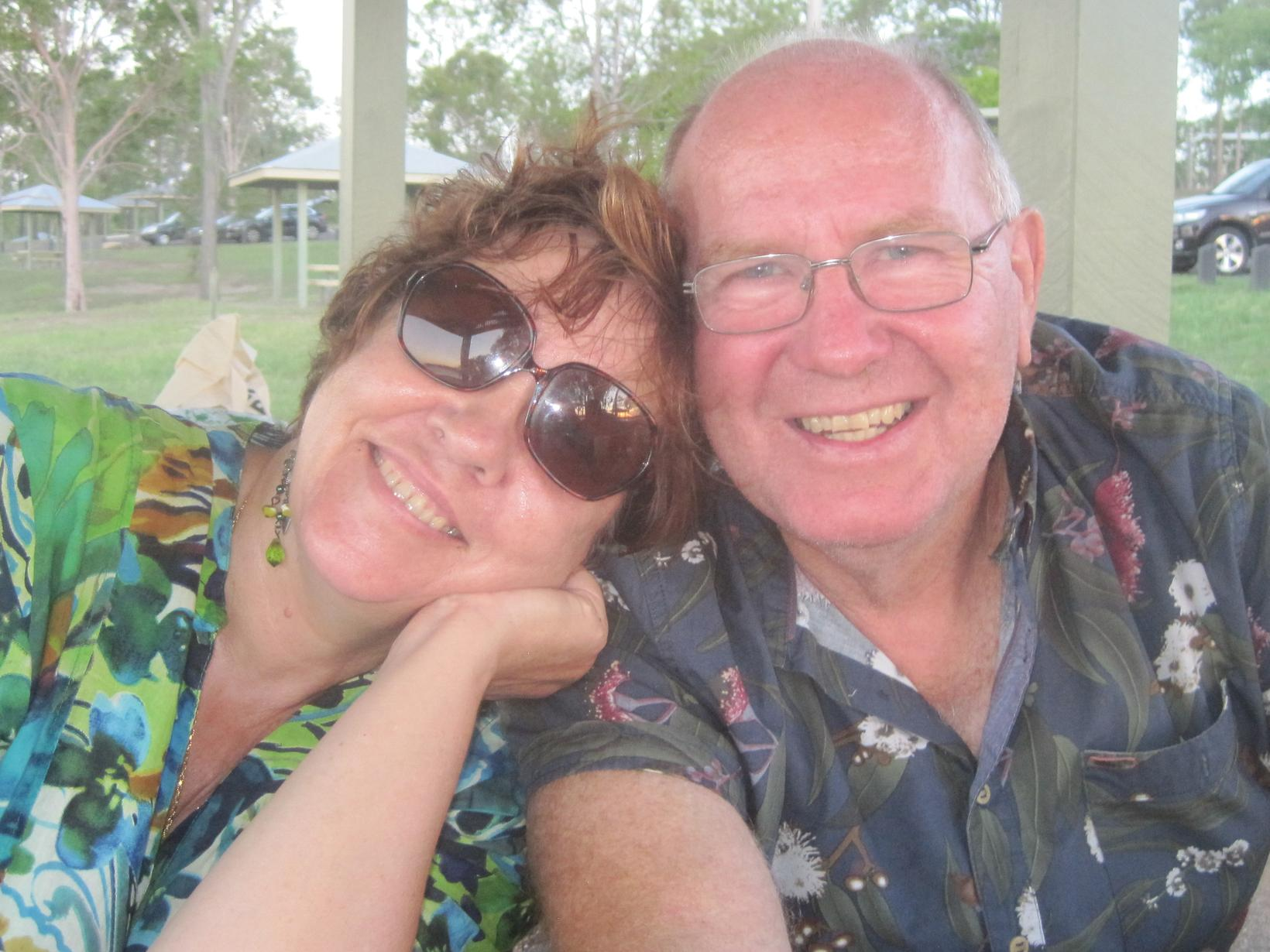 Jeannine & Howard from Brisbane, Queensland, Australia