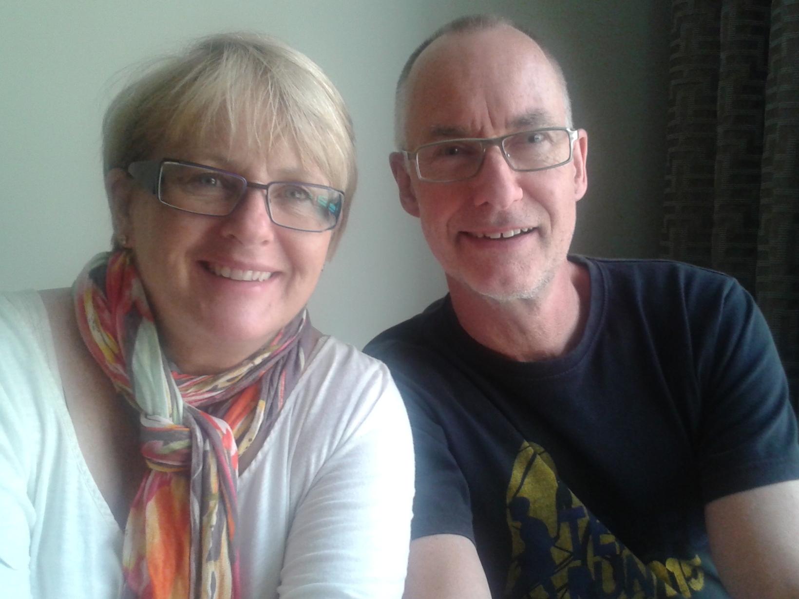 Theresa & Jon from New Glasgow, Nova Scotia, Canada