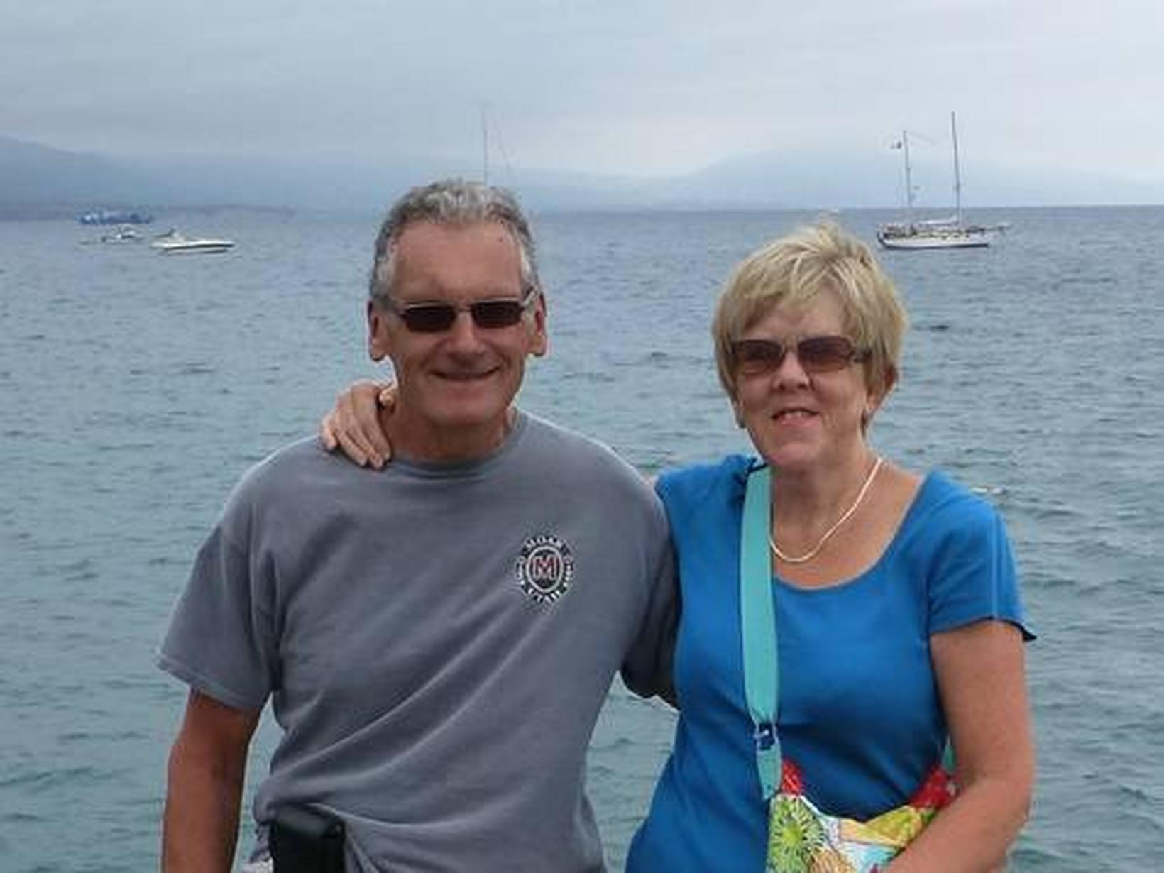 Peter & Sheila from London, United Kingdom