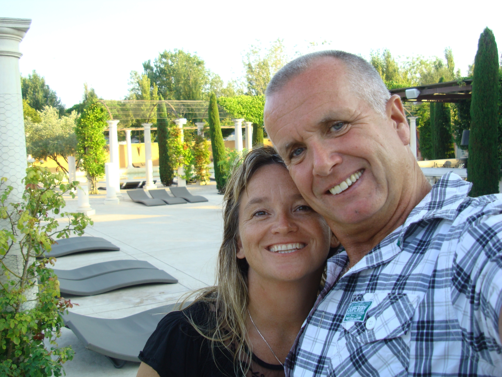 Bridget & Jim from Sampzon, France