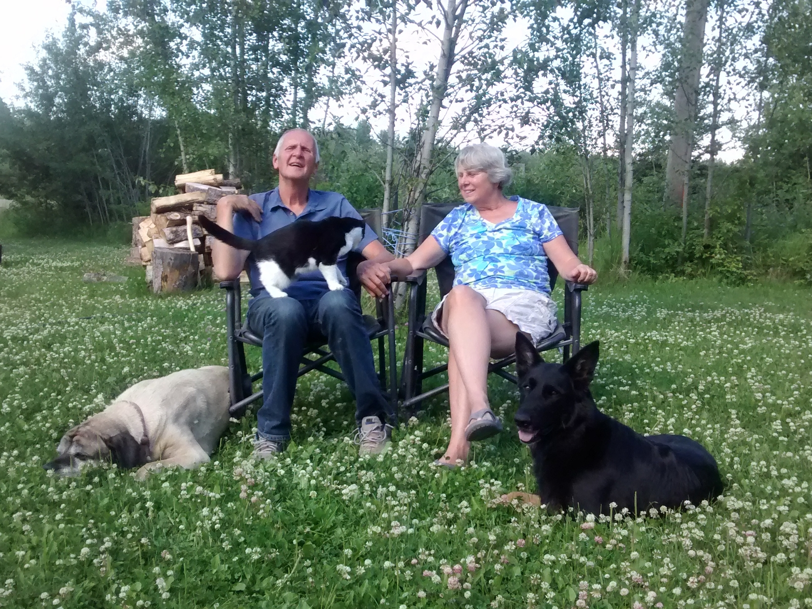 Janice and john & Janice from Edmonton, Alberta, Canada