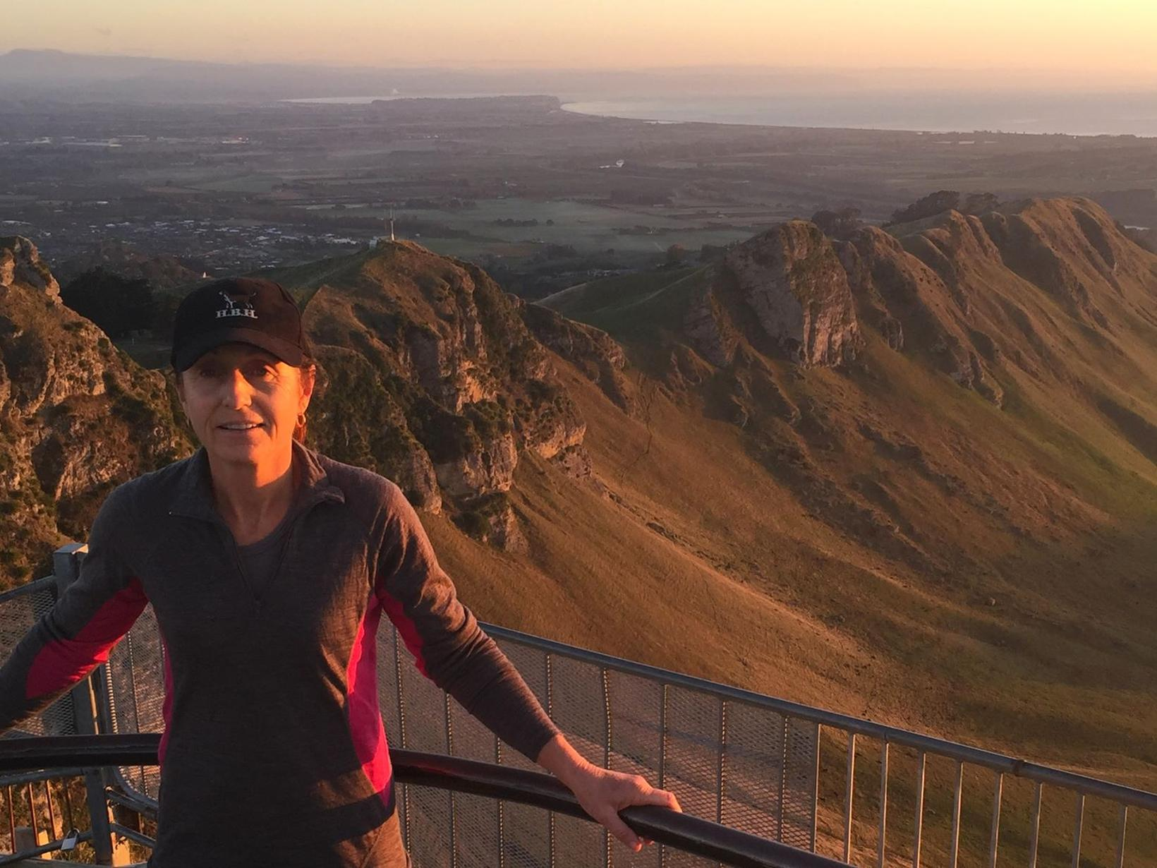 Sandra from Napier, New Zealand