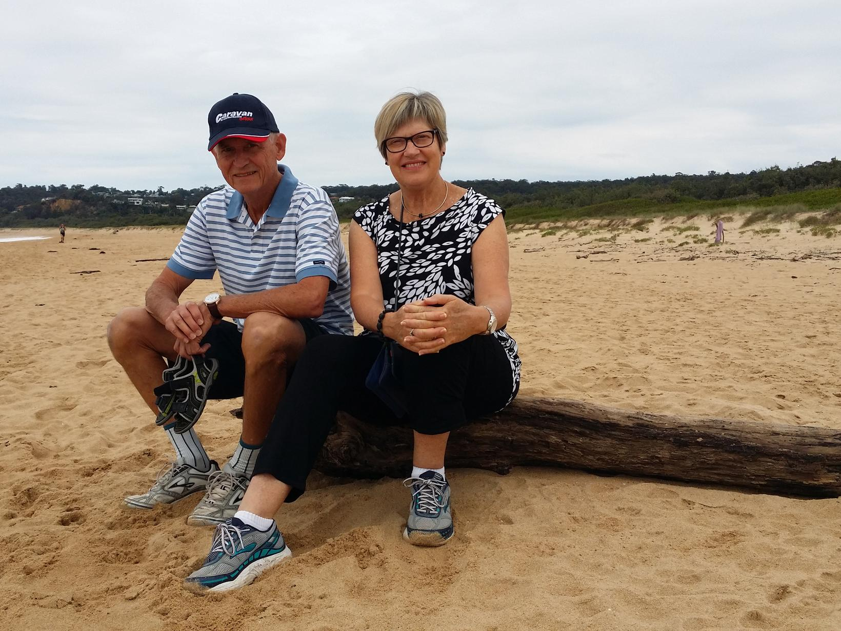 Beth & Roger from Tathra, New South Wales, Australia