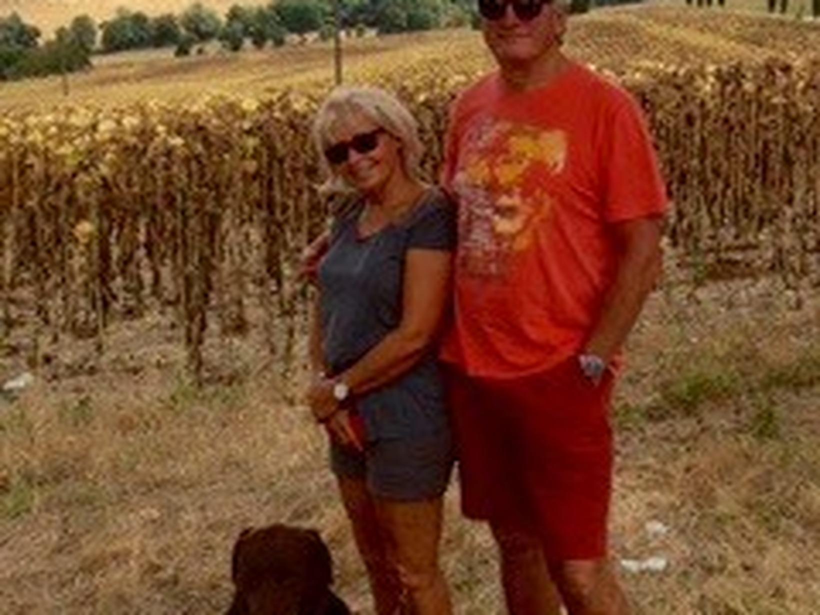 Graham & Maggie from Saint-Amans-du-Pech, France