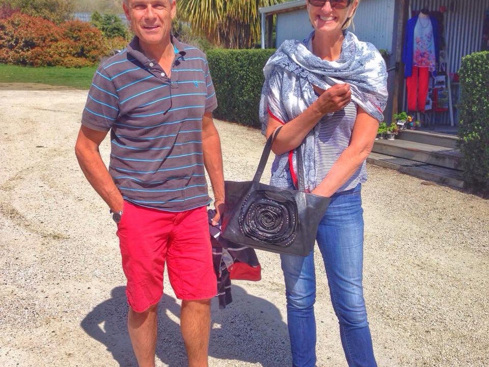 Jeni & Ross from Twizel, New Zealand