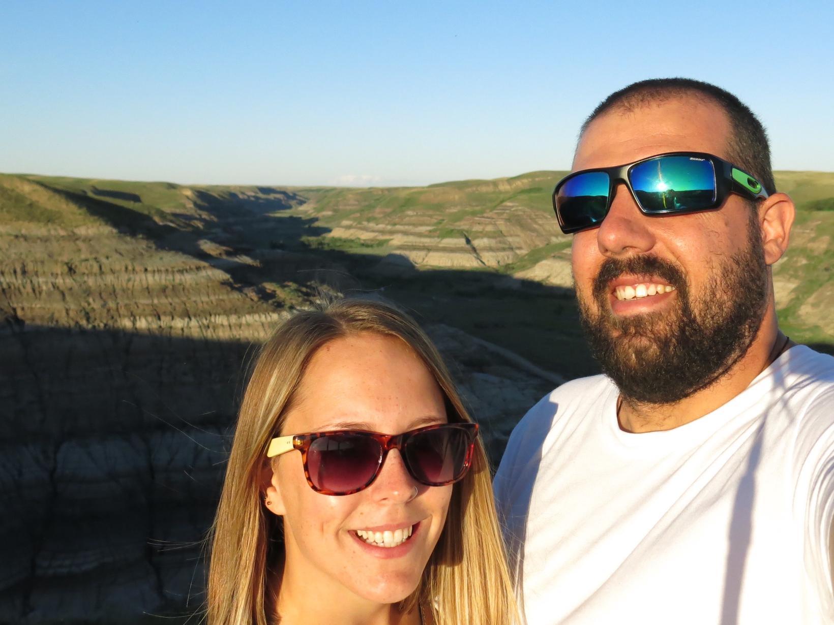 Marieve & Arnaud from Edmonton, Alberta, Canada