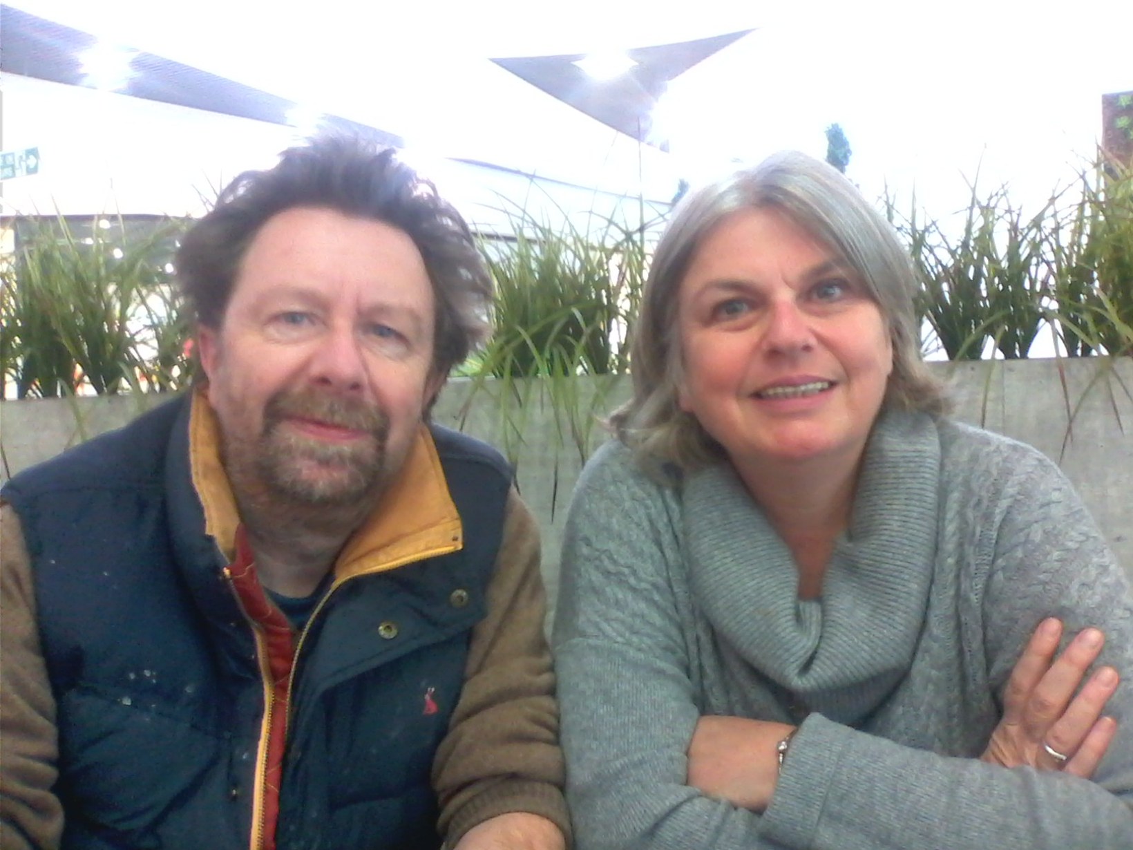 Linda & Mike from La Rochelle, France