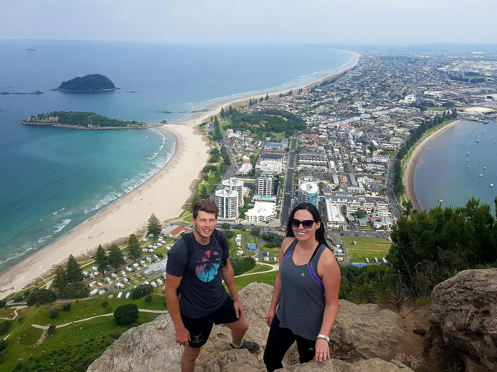 Natalie & Niall from Auckland, New Zealand