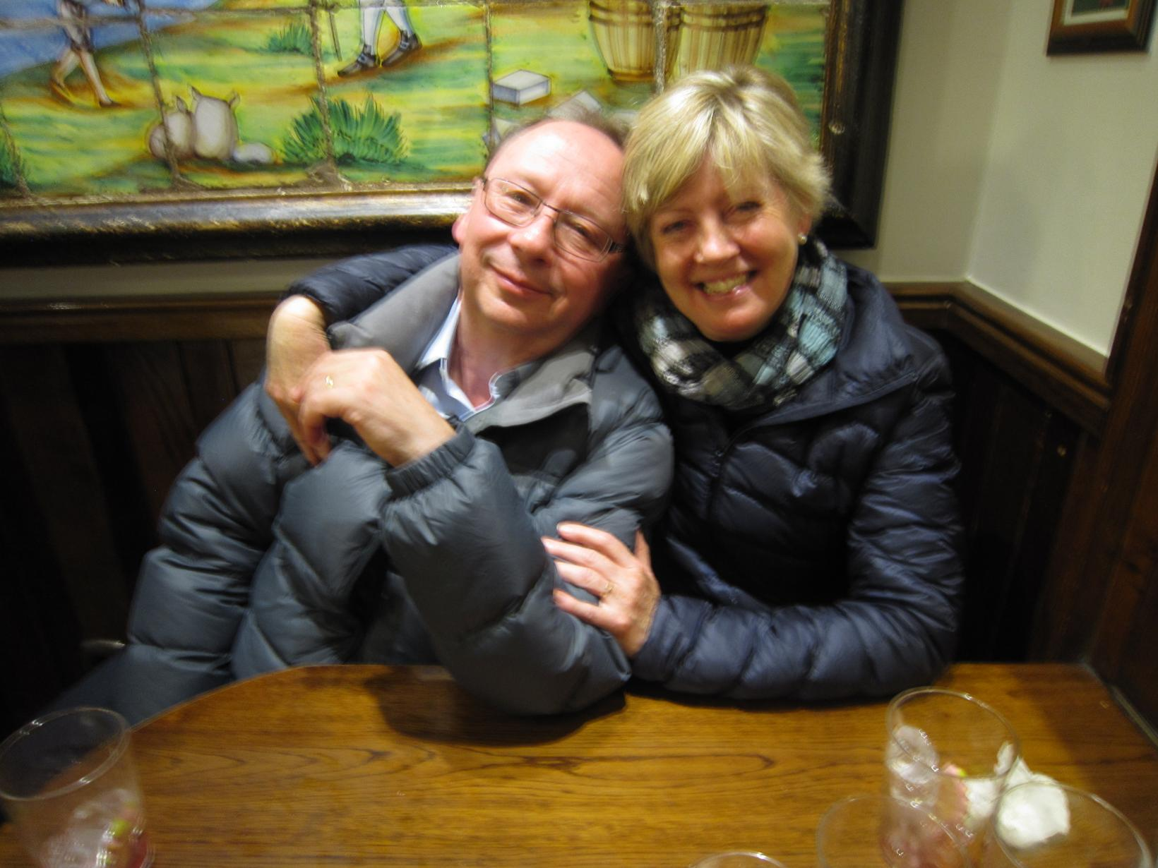 Anne & George from Sydney, New South Wales, Australia