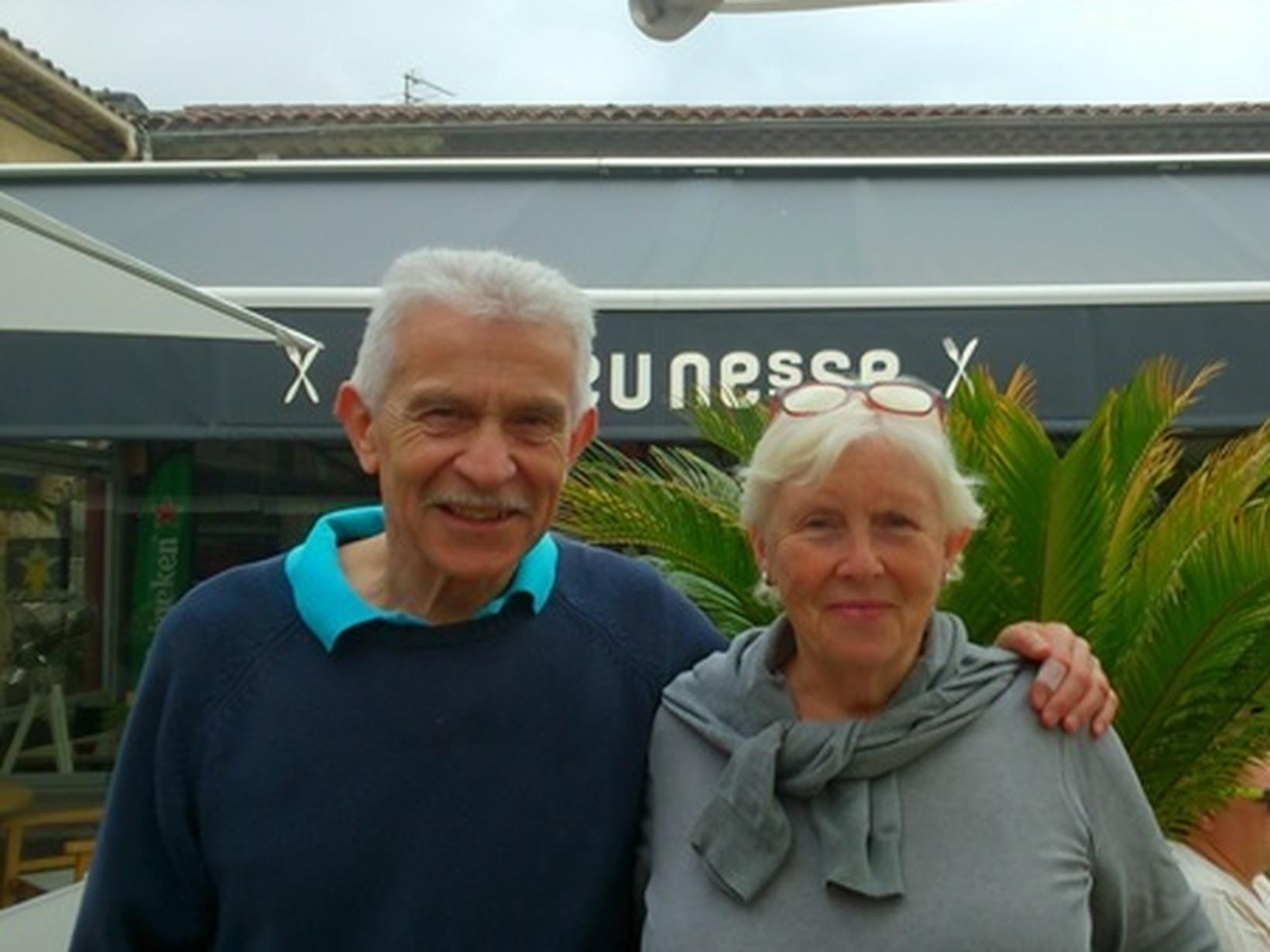 Alan & Tina from England, United Kingdom