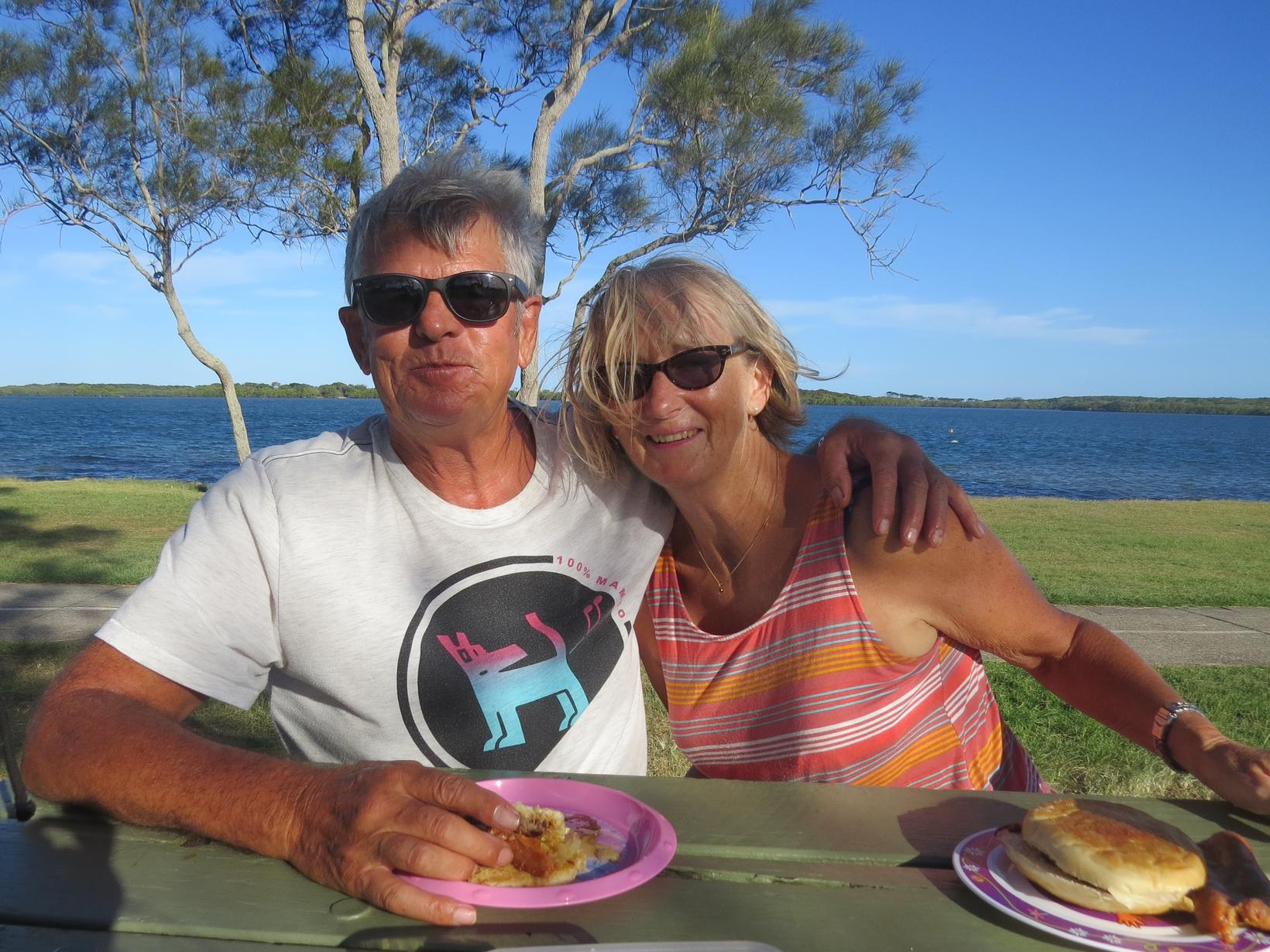 Avril & William from Mountain Creek, Queensland, Australia