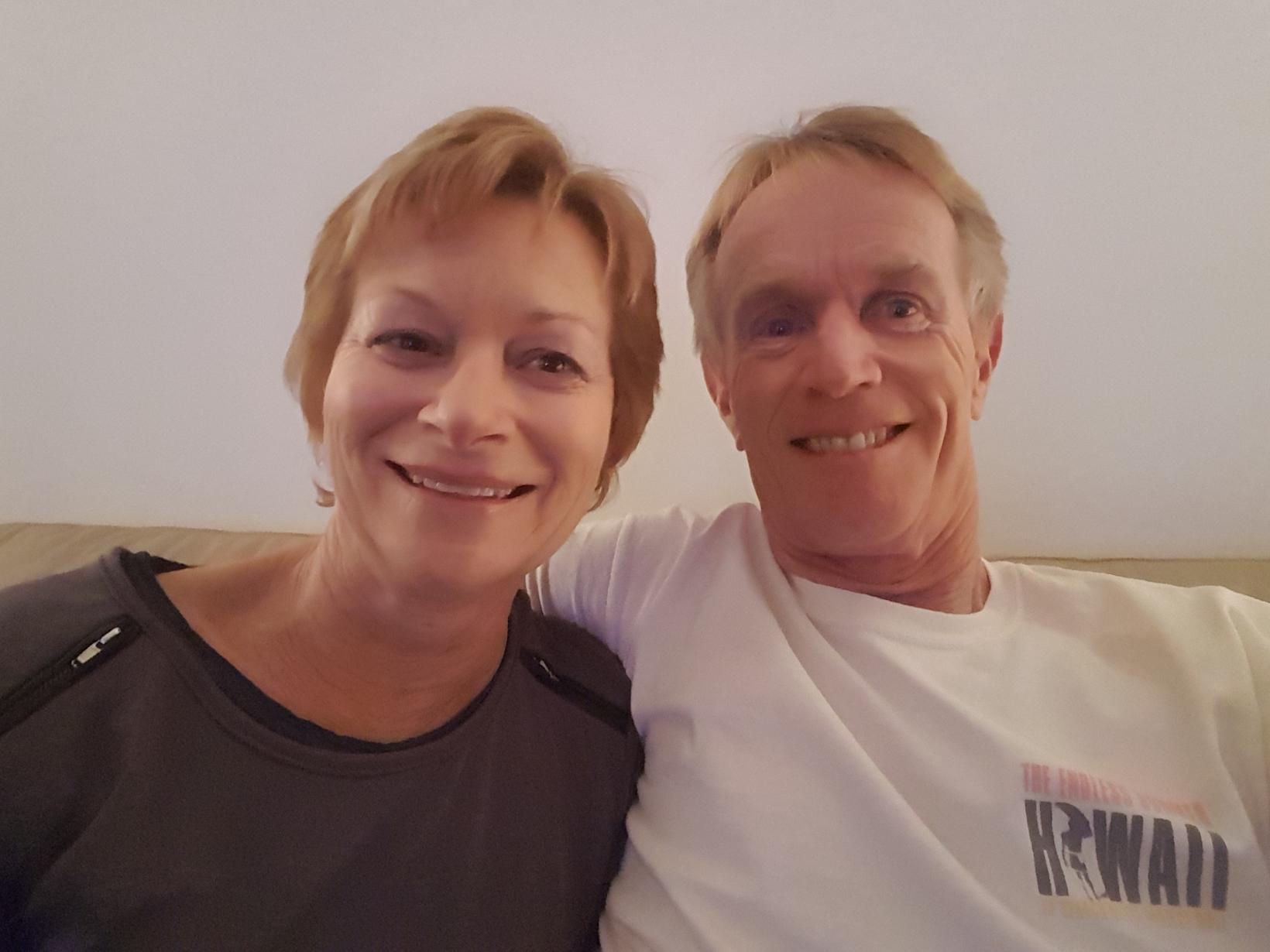 Peter & Yvonne from Orewa, New Zealand