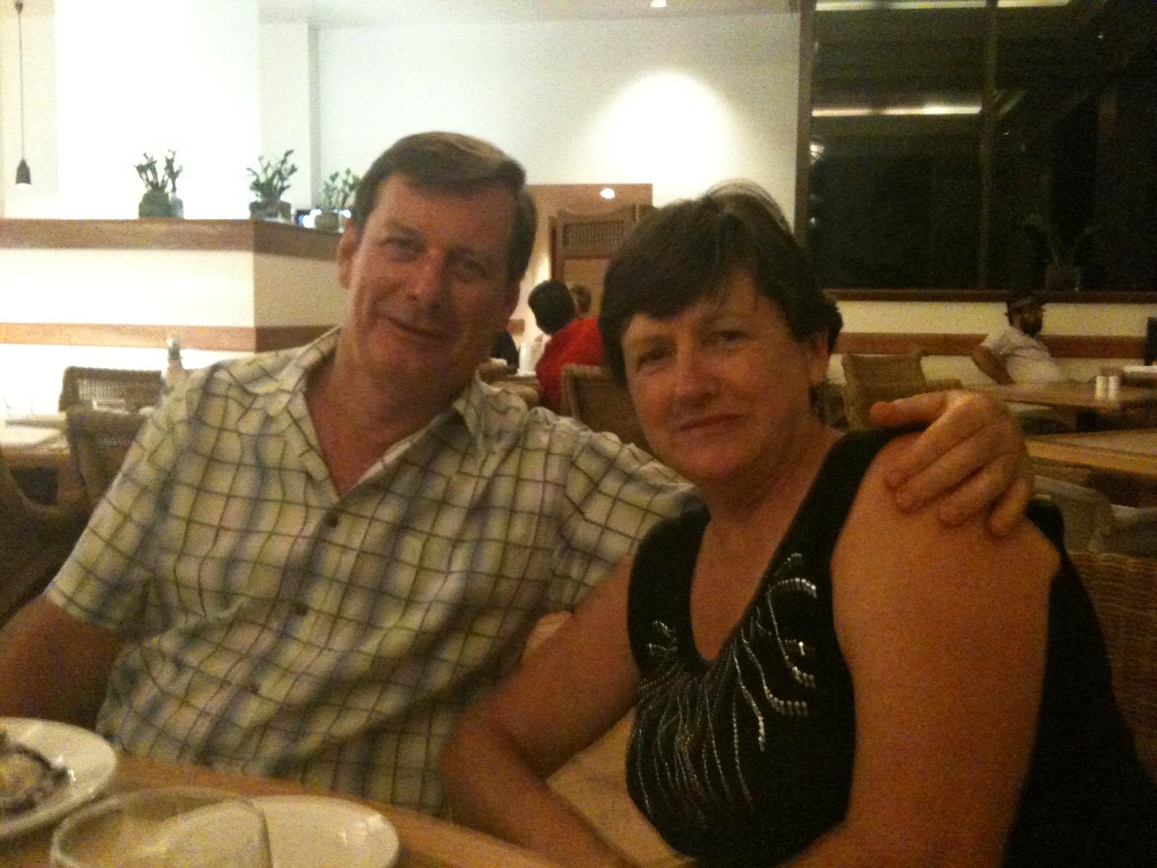 Heather & Paul from Gold Coast, Queensland, Australia