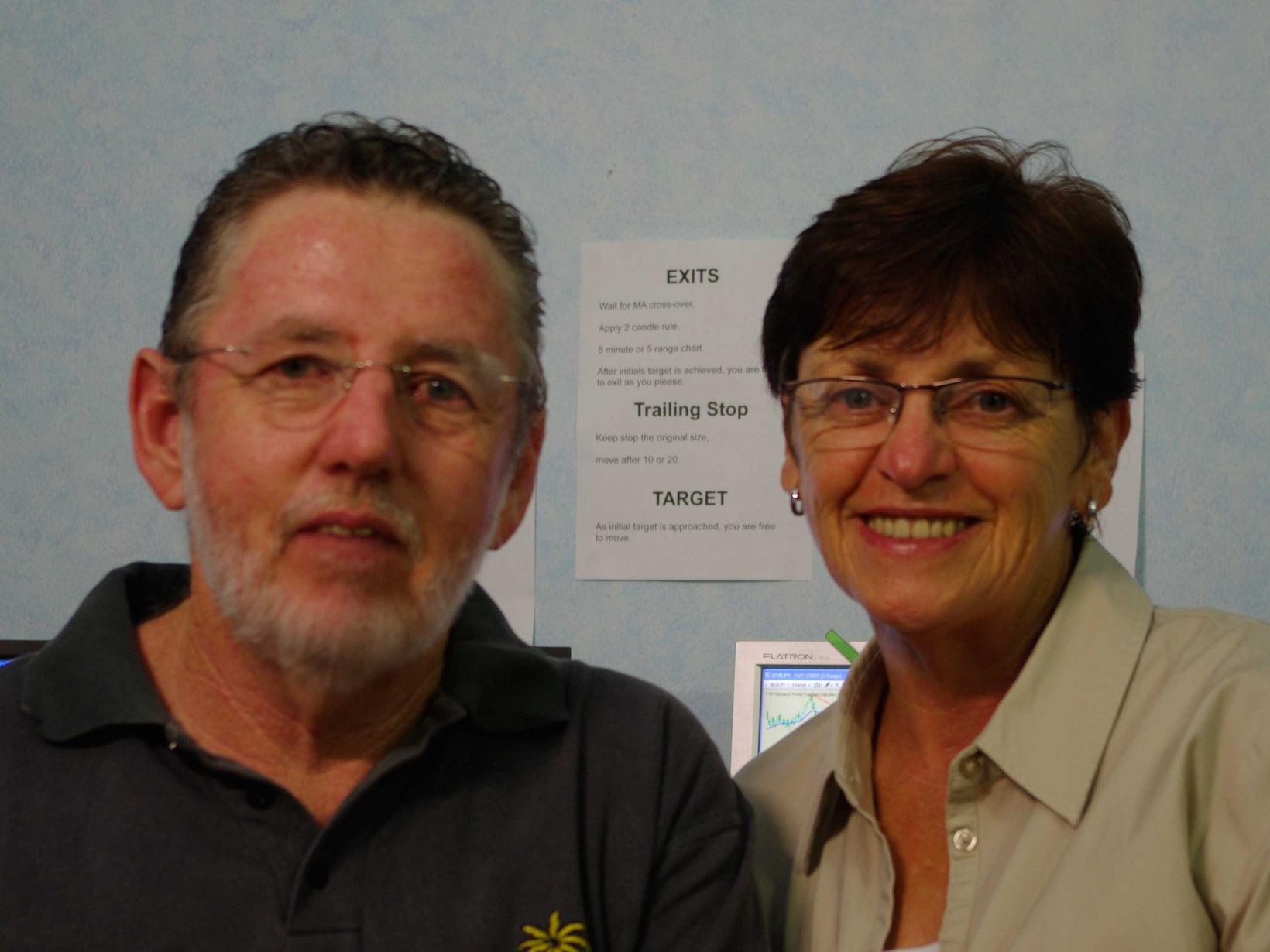 Peter & Leonie from Brisbane, Queensland, Australia