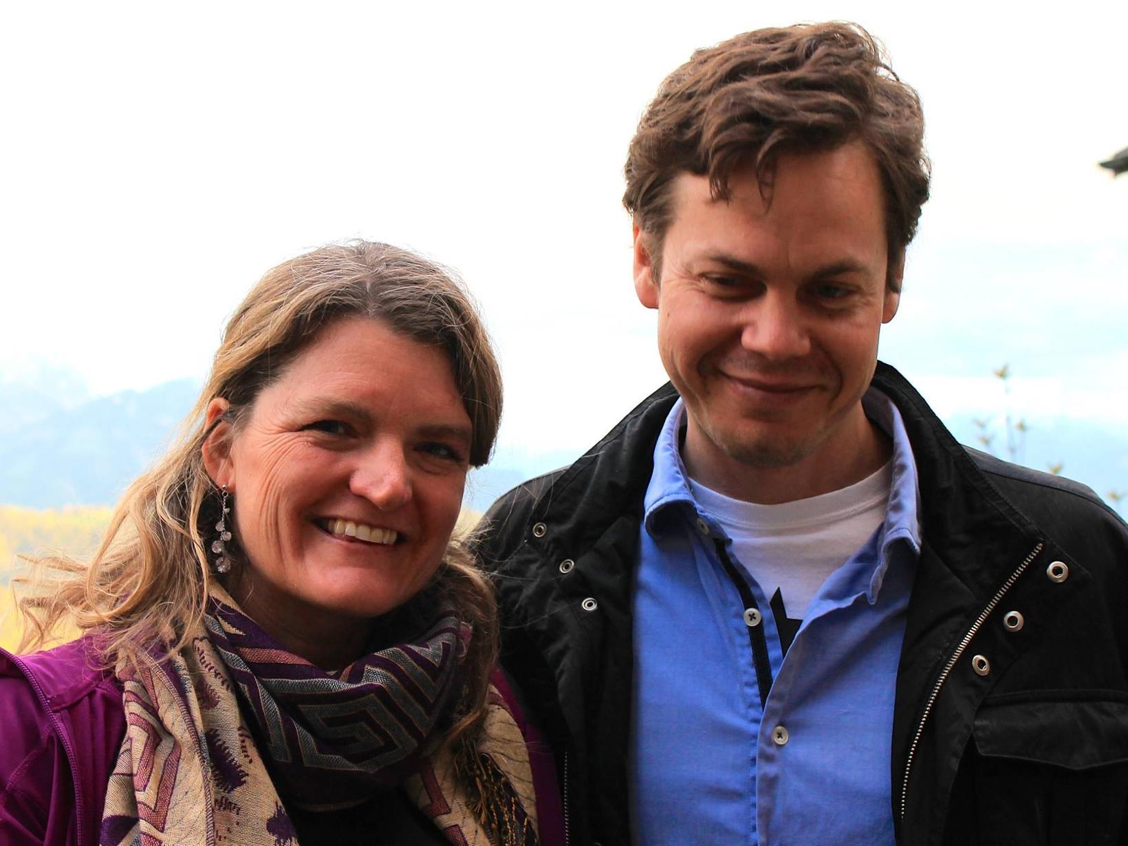 Tracy & Clifford from Leysin, Switzerland