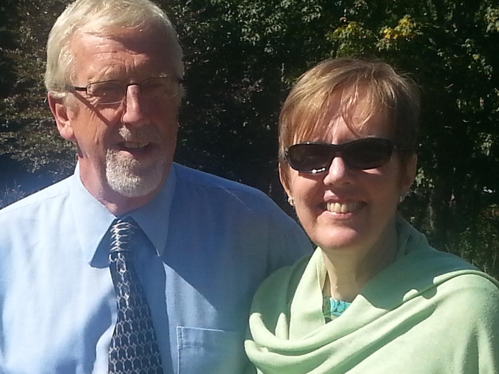 Katharine & Angus from Duncan, British Columbia, Canada