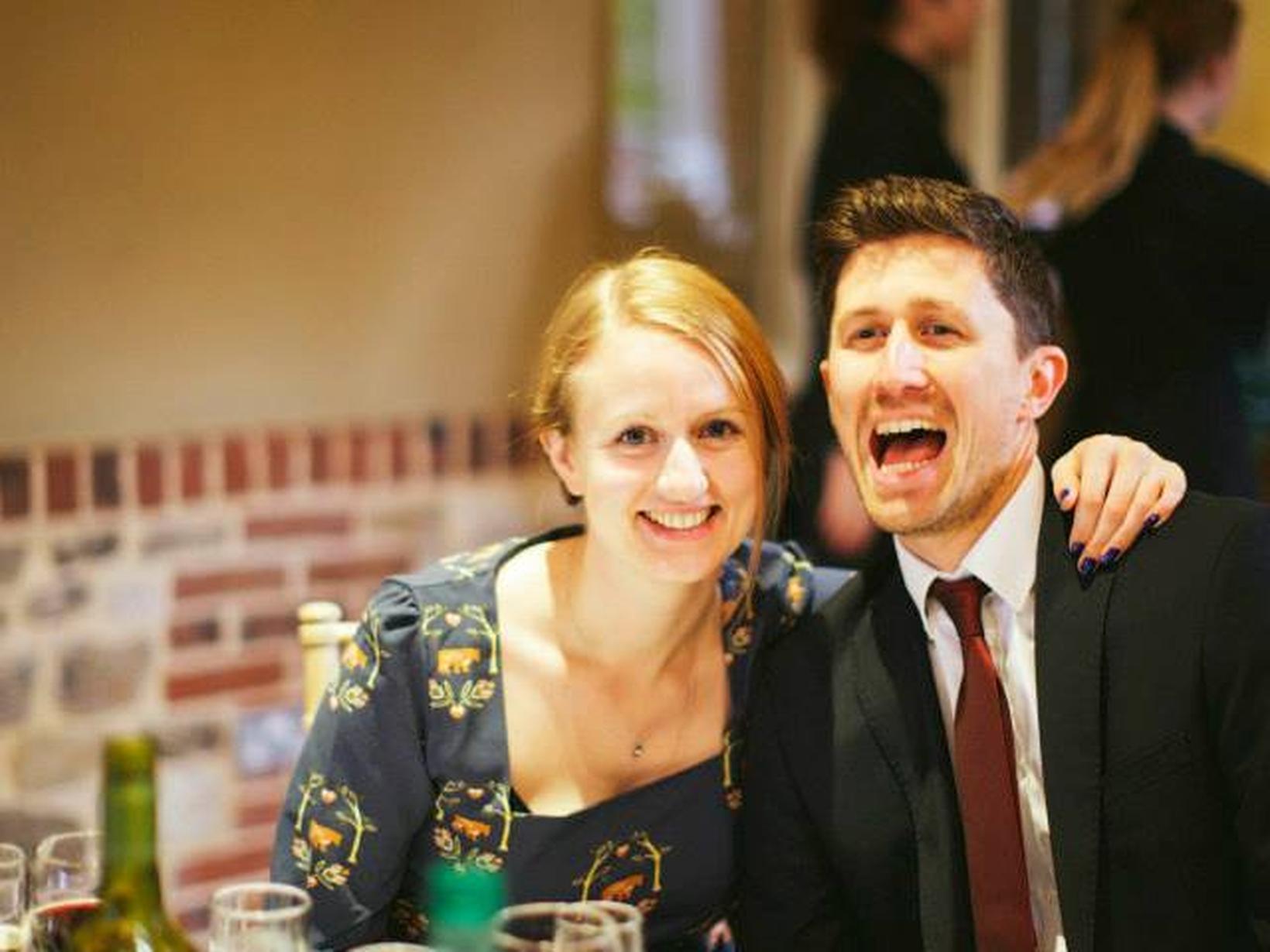 Rob & Becky from Brighton, United Kingdom