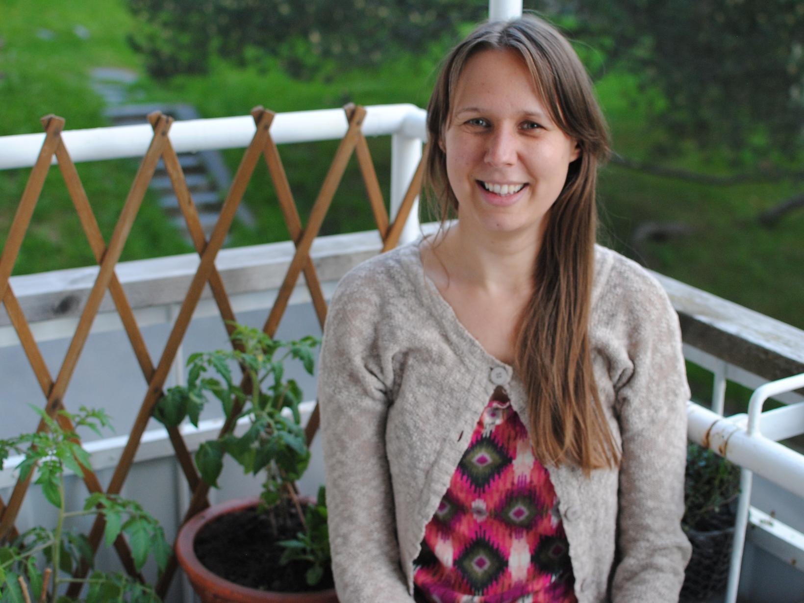 Johanna from Jyväskylä, Finland