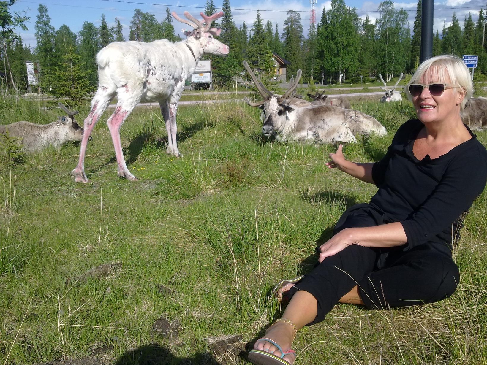 Minna from Helsinki, Finland