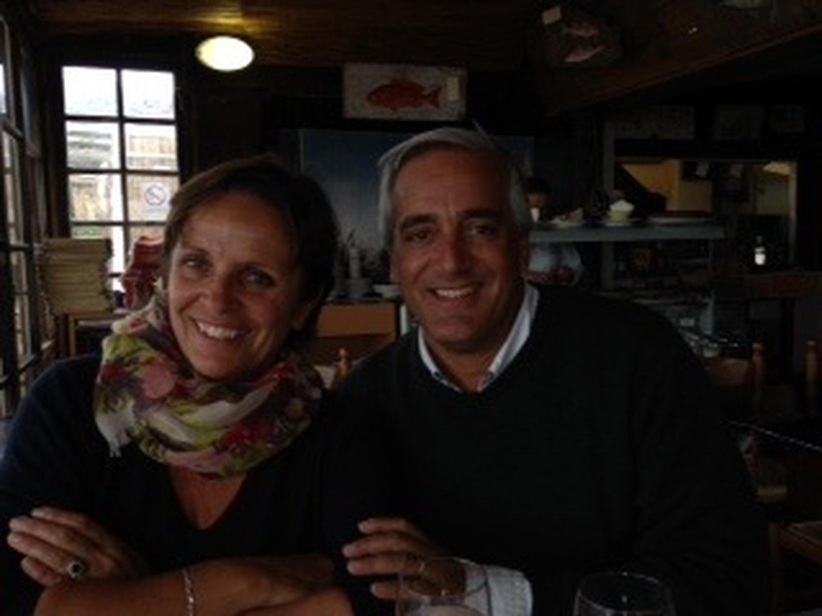 Frederique & Allwyn from Garéoult, France