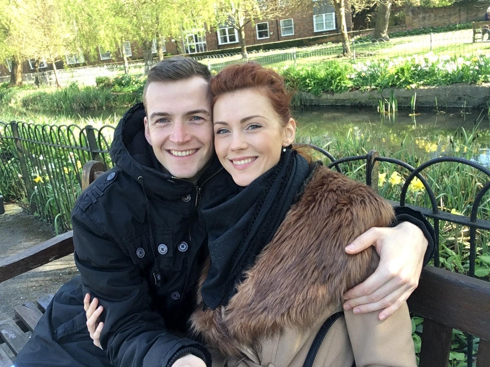 Claudie & Radomir from London, United Kingdom