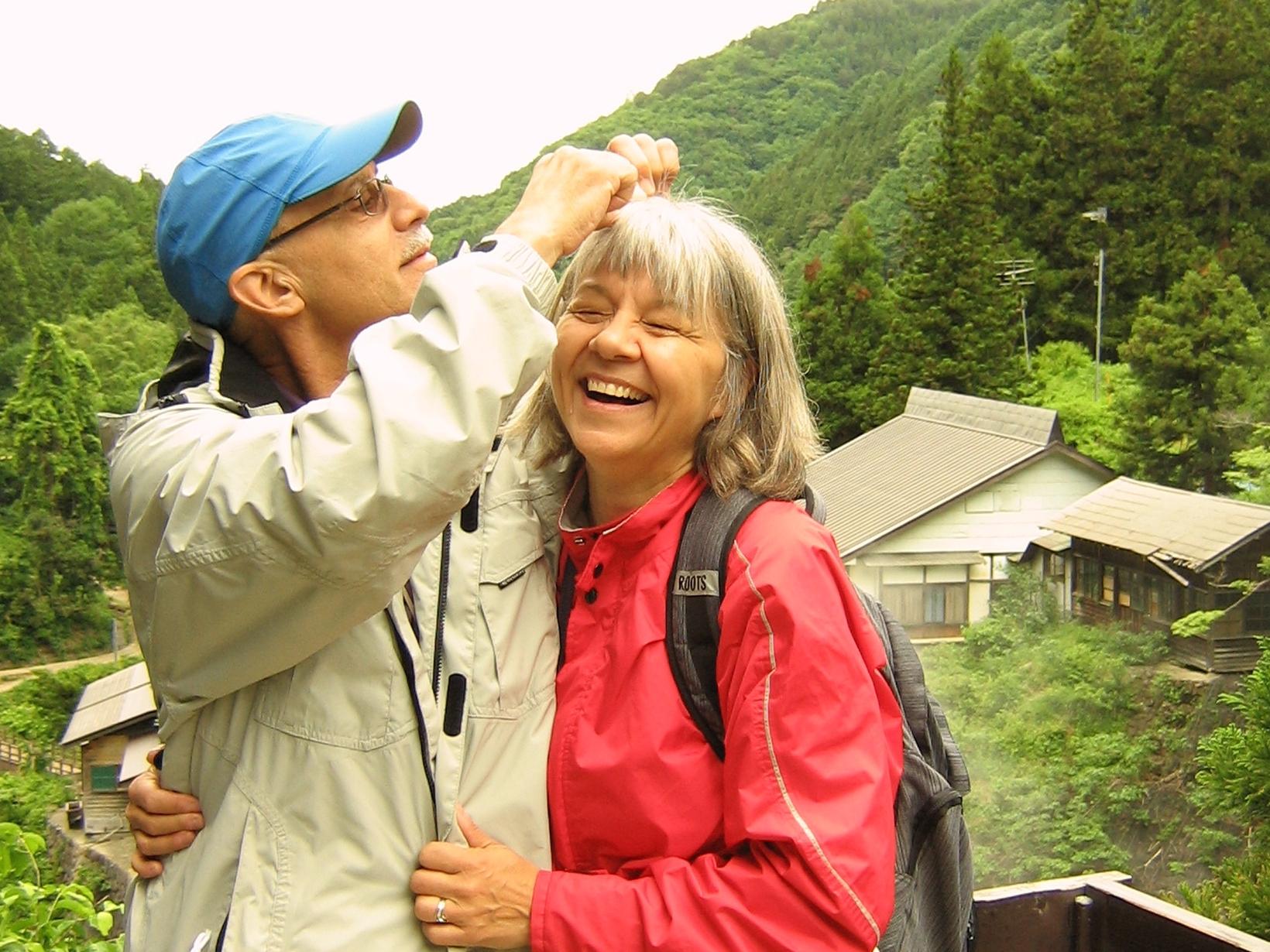 Sandra & John from Victoria, British Columbia, Canada