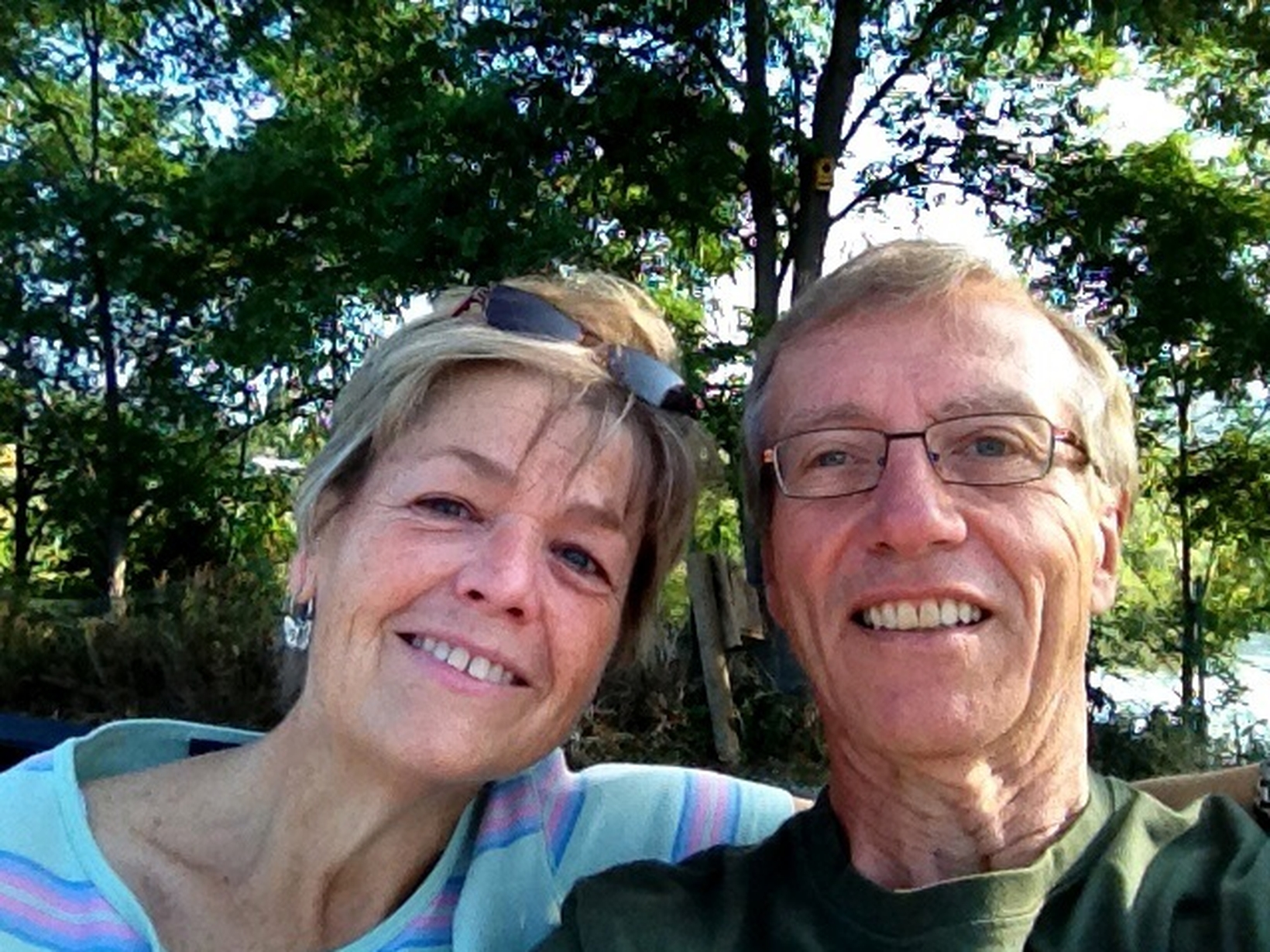 Jean & Brian from Osoyoos, British Columbia, Canada