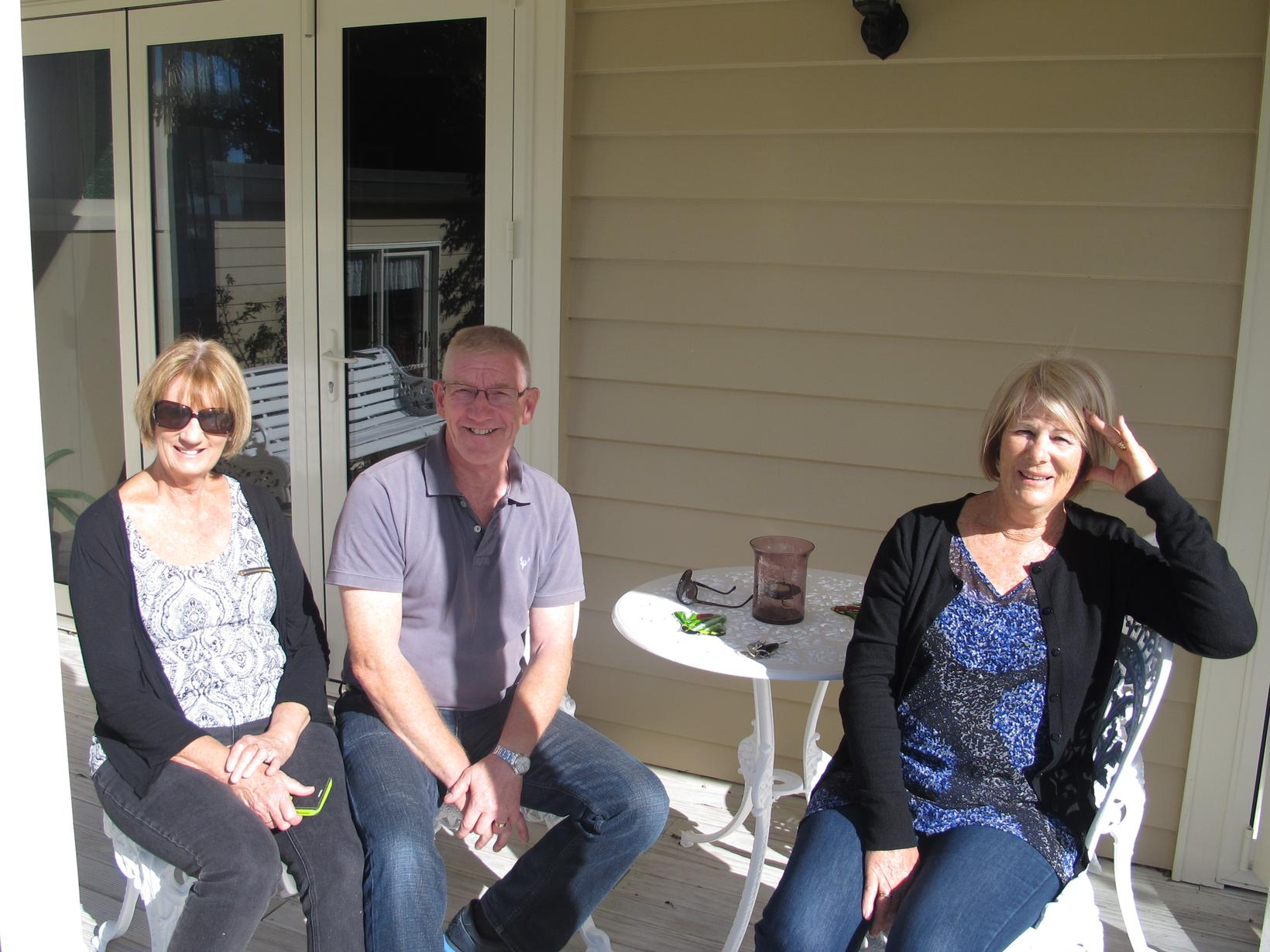 Lis & Keith from Auckland, New Zealand
