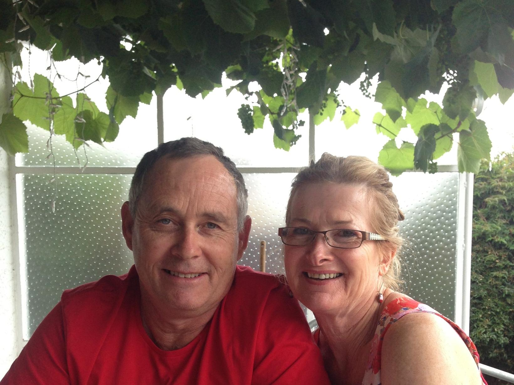 Jessie & Steve from Christchurch, New Zealand