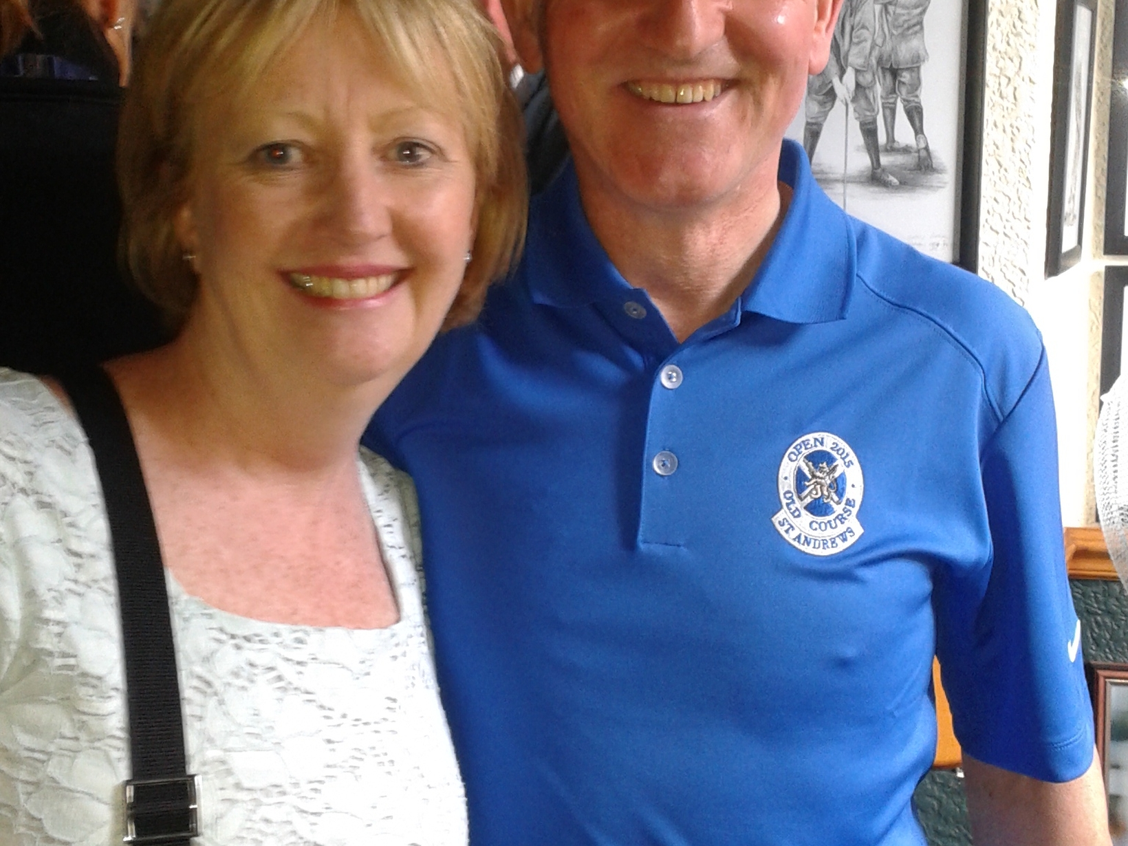 Irene & Jim from Saint Andrews, United Kingdom