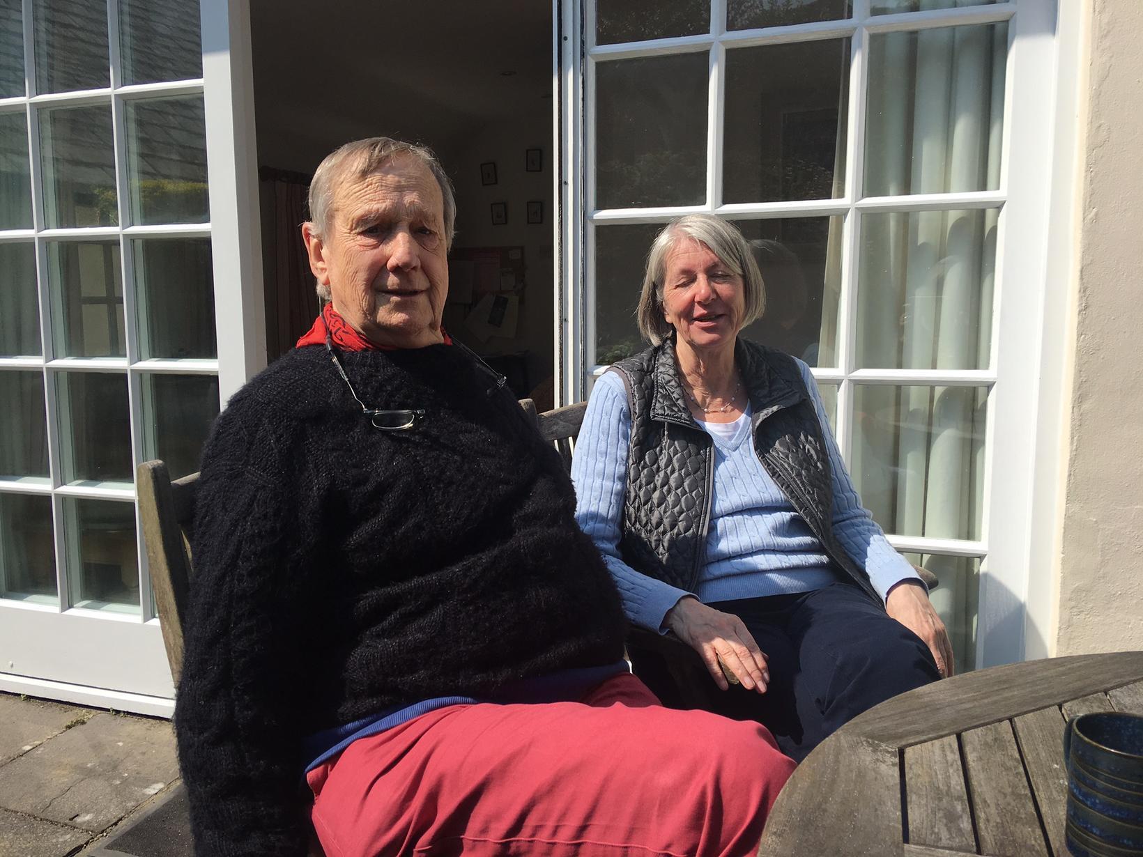 Robin & Sue from Bristol, United Kingdom