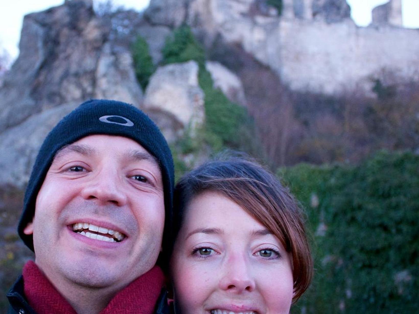 Nicholas & Jillian from Abu Dhabi, United Arab Emirates