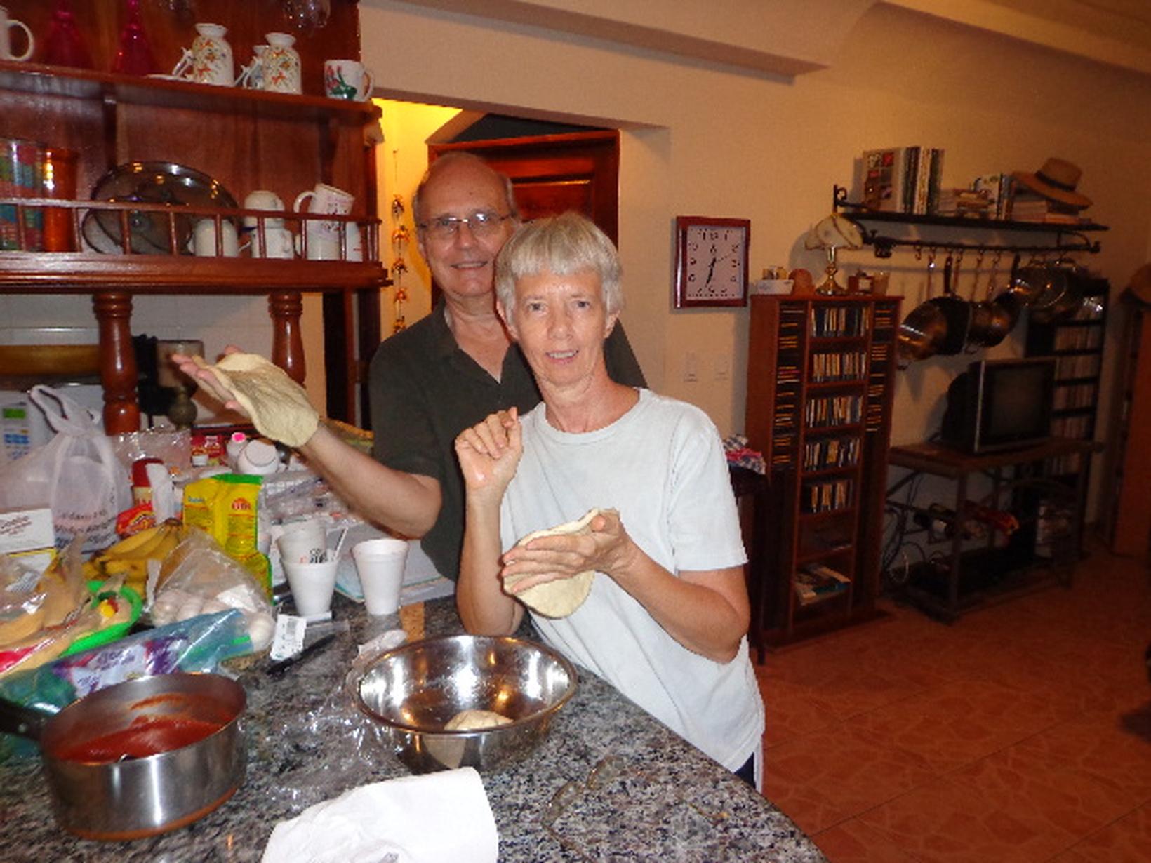 Patricia & Robert from Guararé, Panama