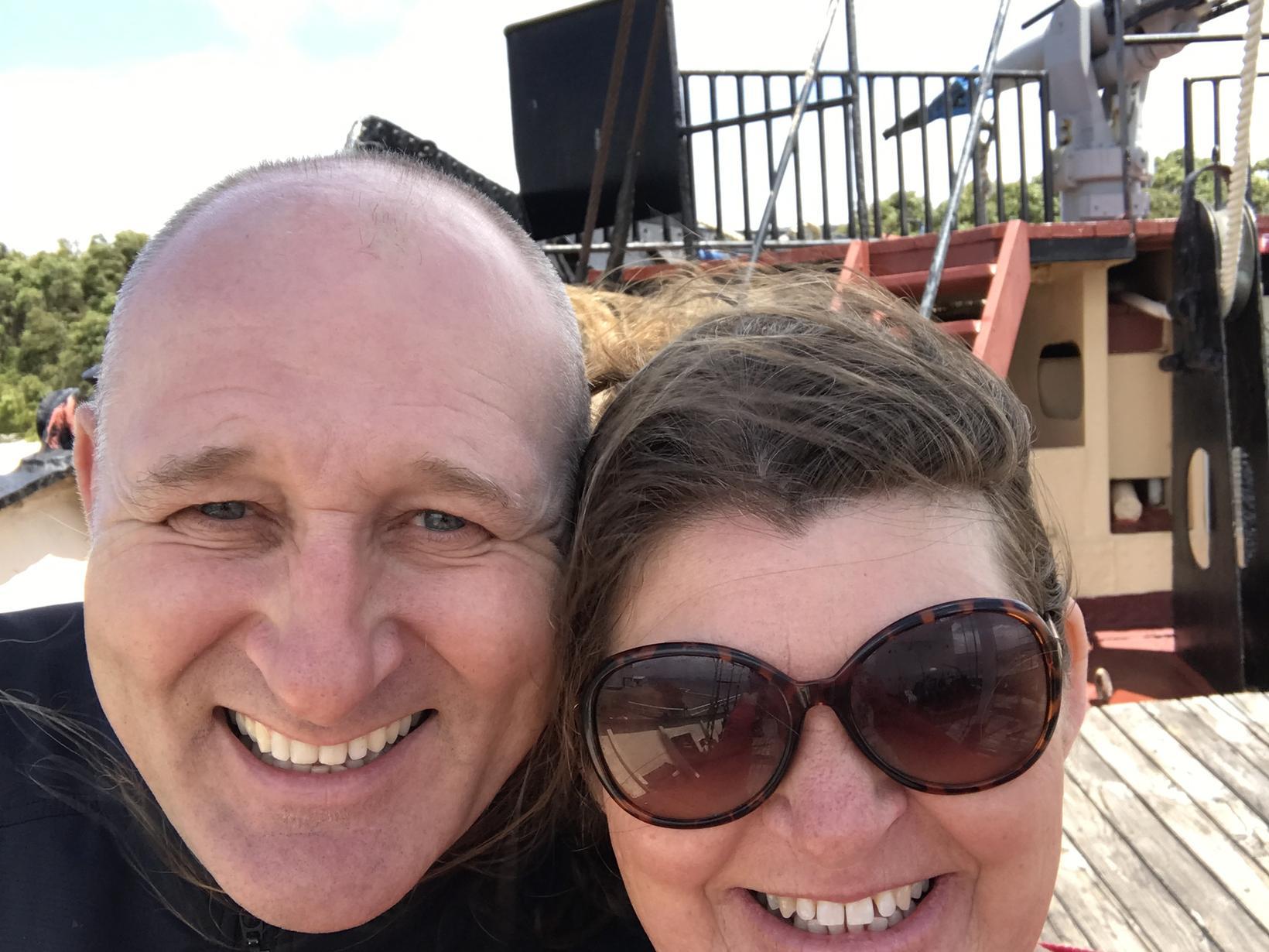 Julie & Michael from Perth, Western Australia, Australia