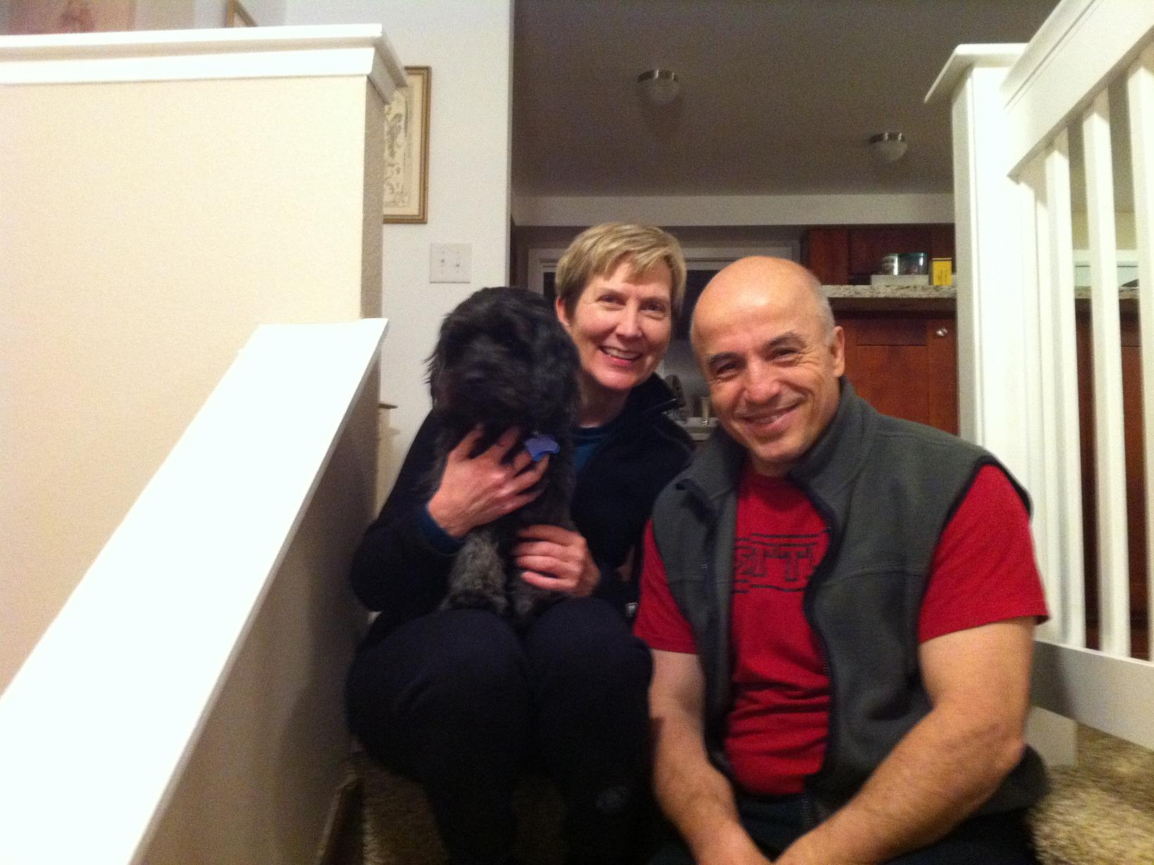 Nancy & Erden from Seattle, Washington, United States