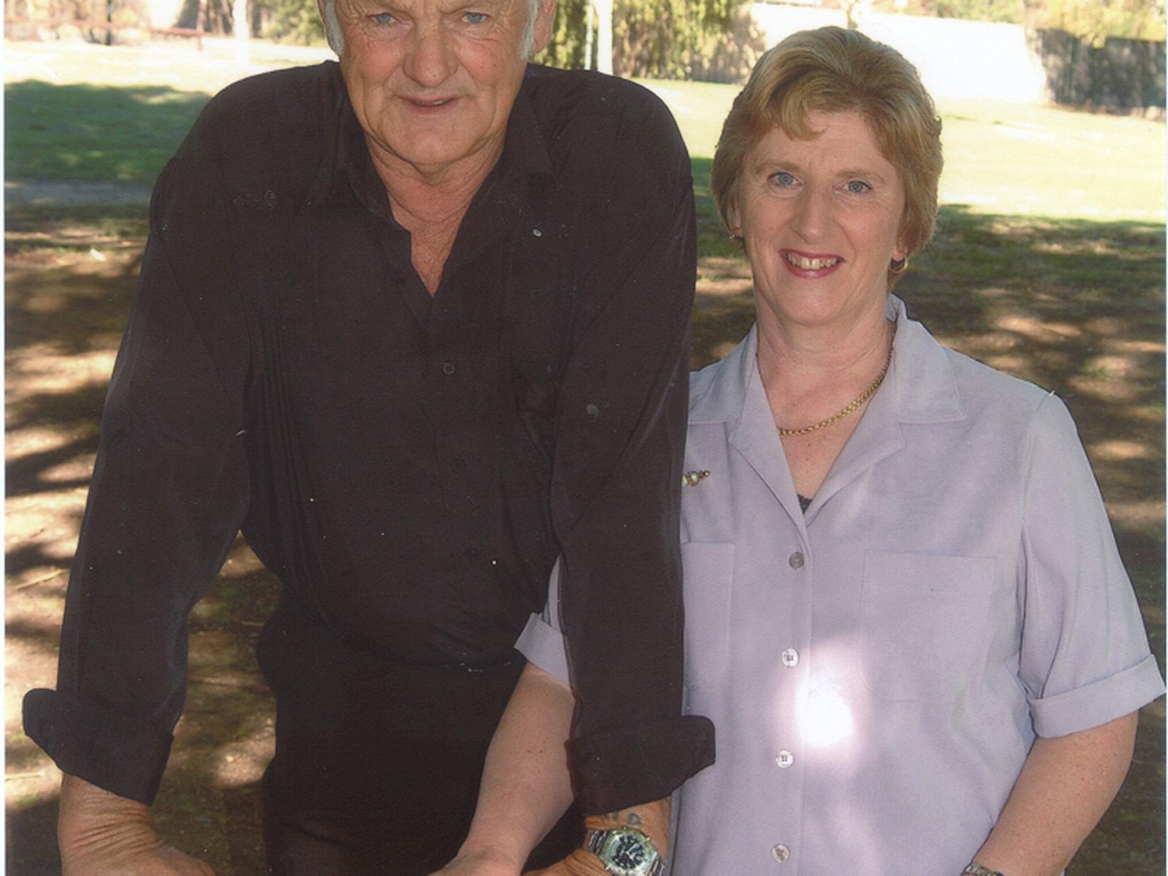 Irene & Bruce from Corowa, New South Wales, Australia