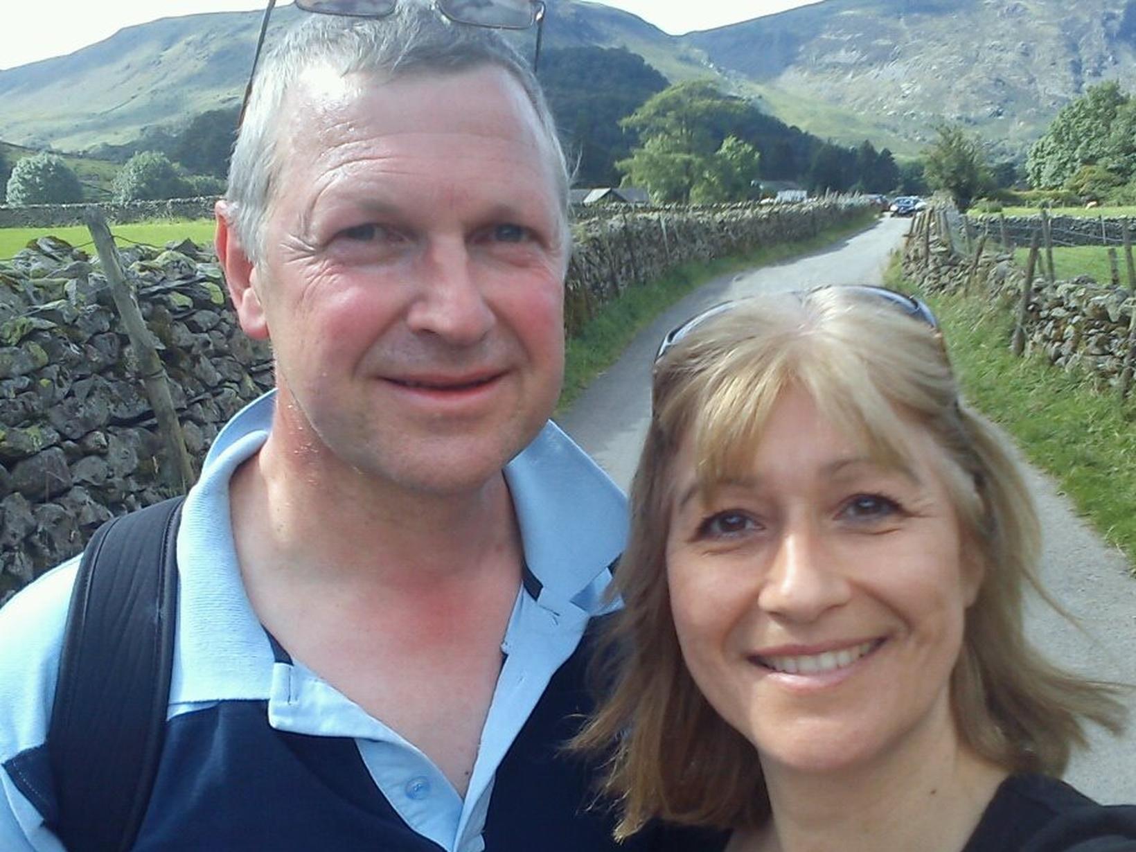 Michael & Andrea from Edinburgh, United Kingdom