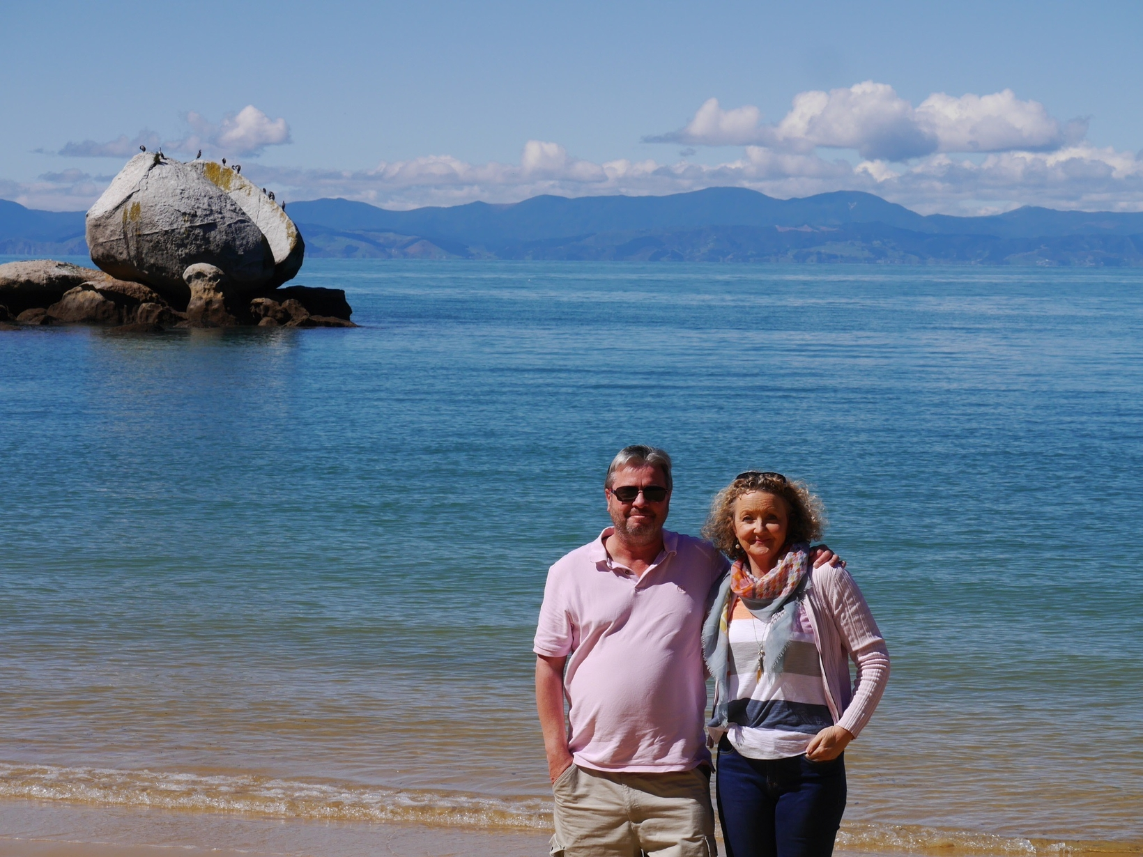 Tricia and matt & Matt from Nelson, New Zealand