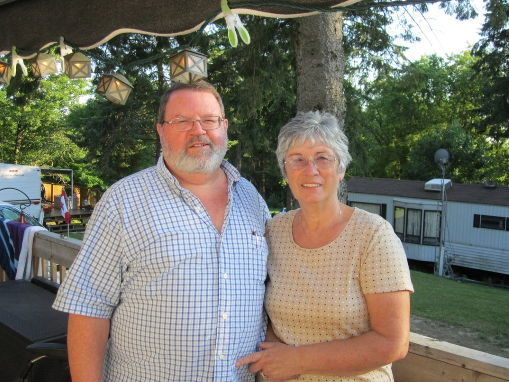 James & Christine from Belleville, Ontario, Canada